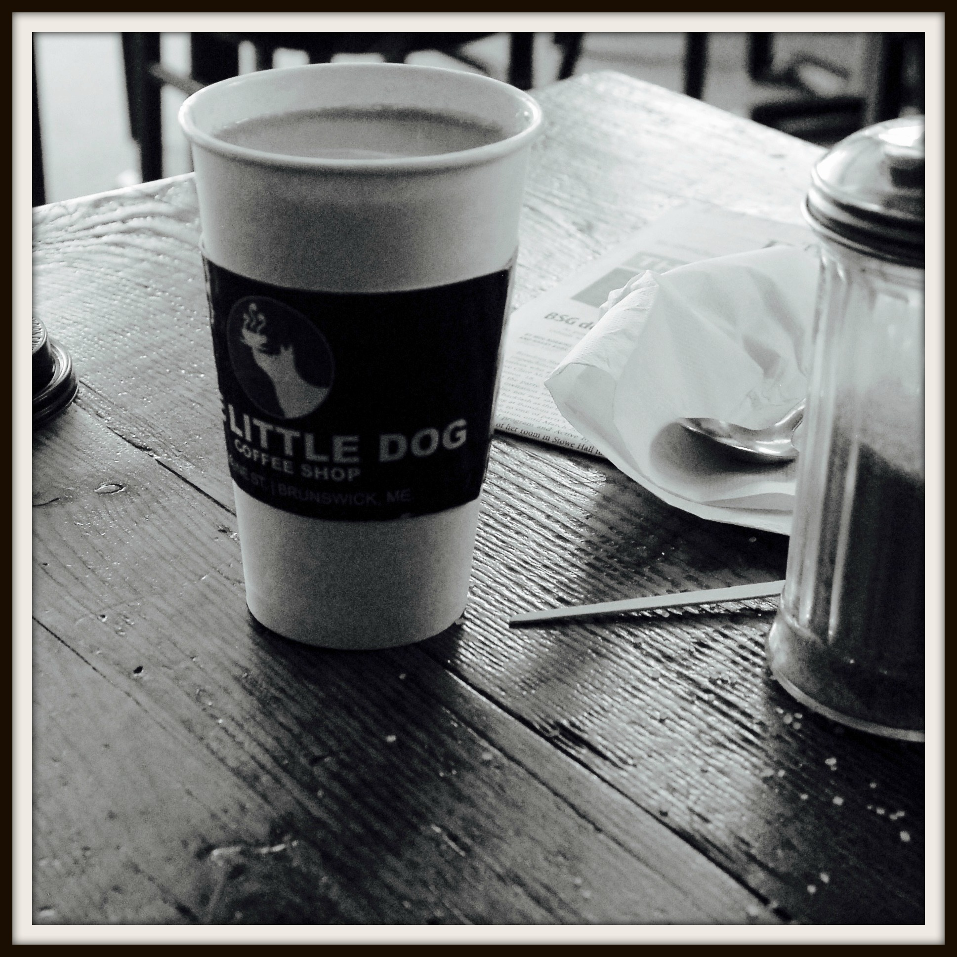 framed Black and white coffee cup.jpg
