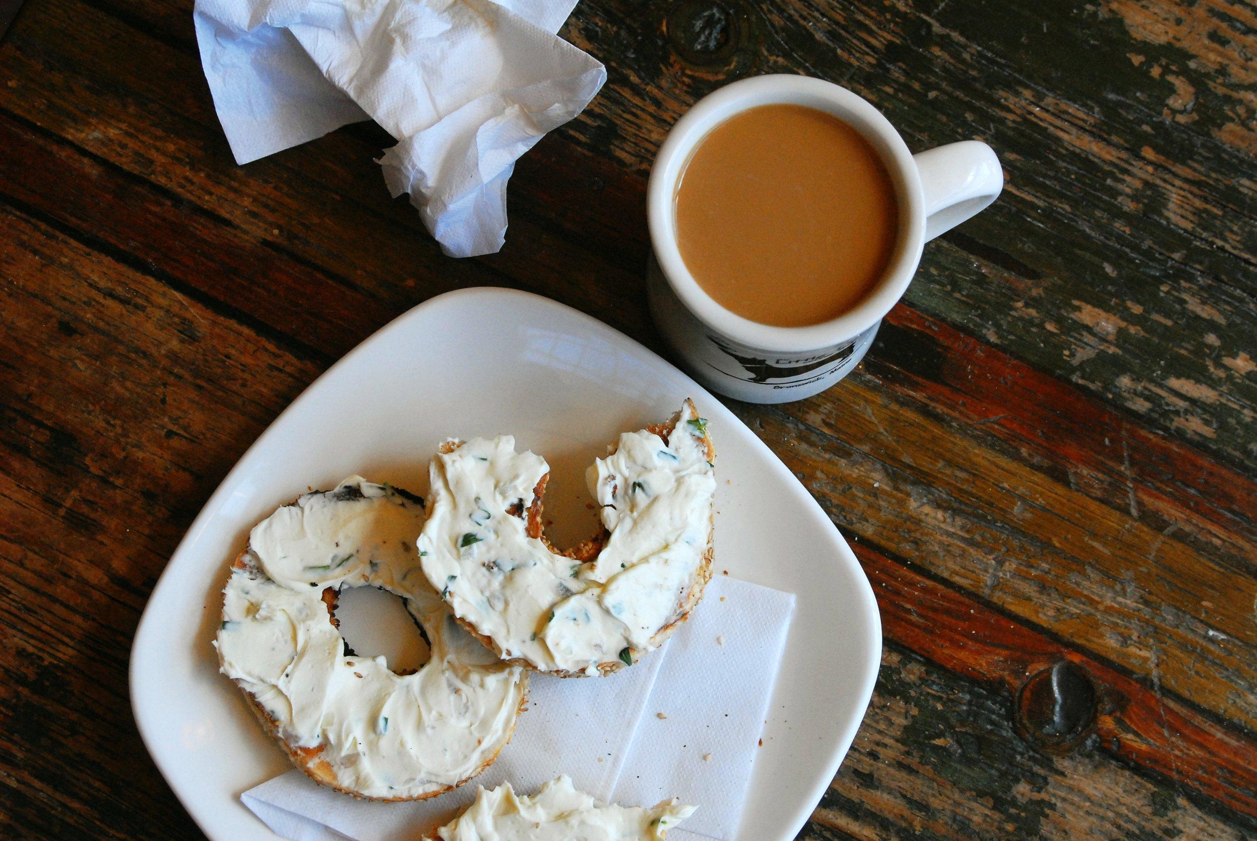 coffee + bagel with napkin.jpg