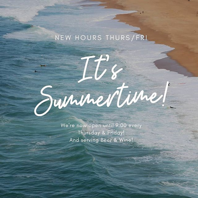 Little Dog is now open late every Thursday and Friday night! Pop in for after-dinner drinks and dessert to cap off your evening in Brunswick! Low key coffeehouse vibes all summer long ☕🍷🍺