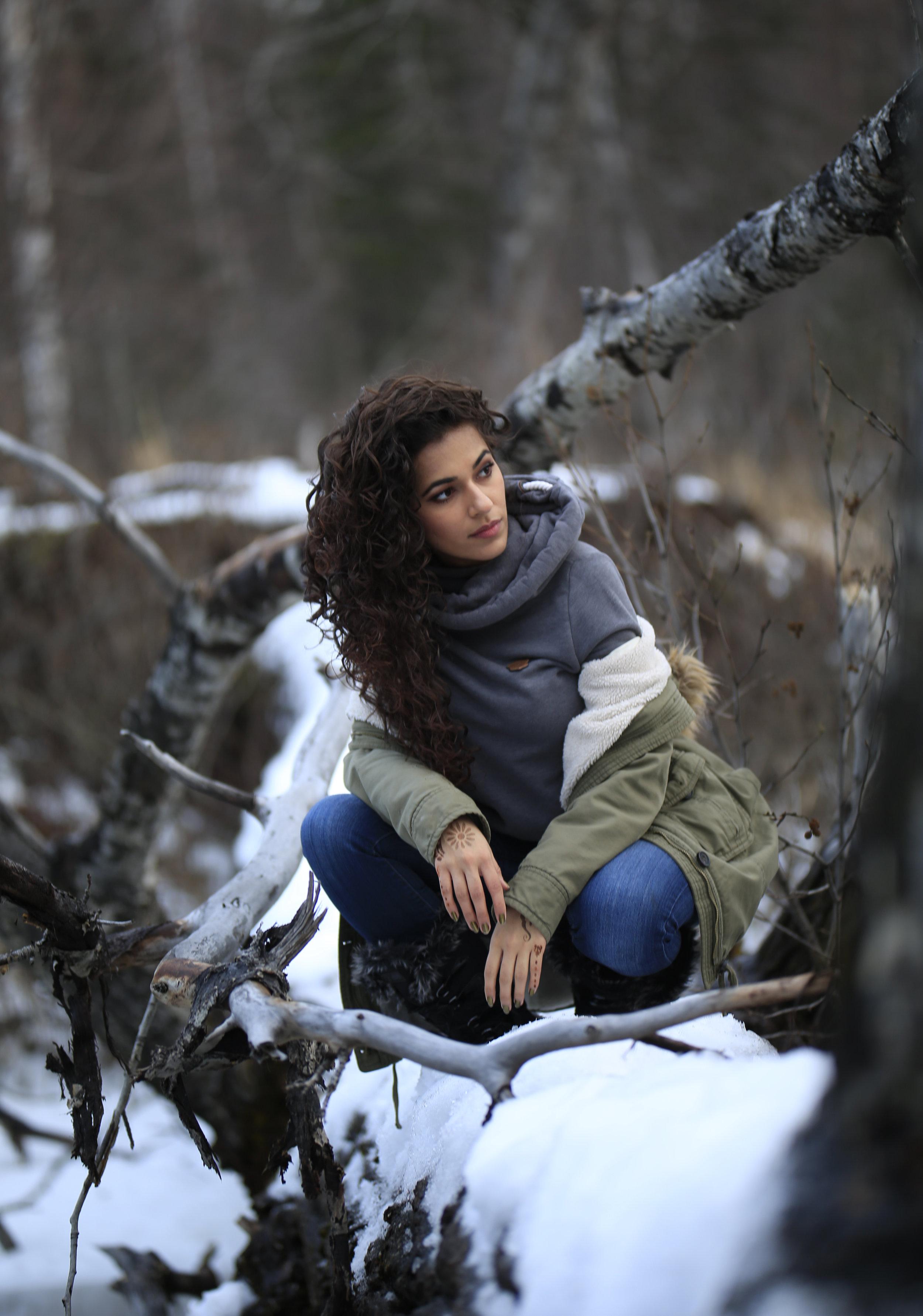 Model Malik - Deva Curl Model