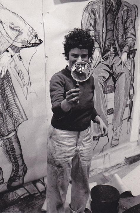 Mimi Gross  - Photo by Bill Arnold, 1978