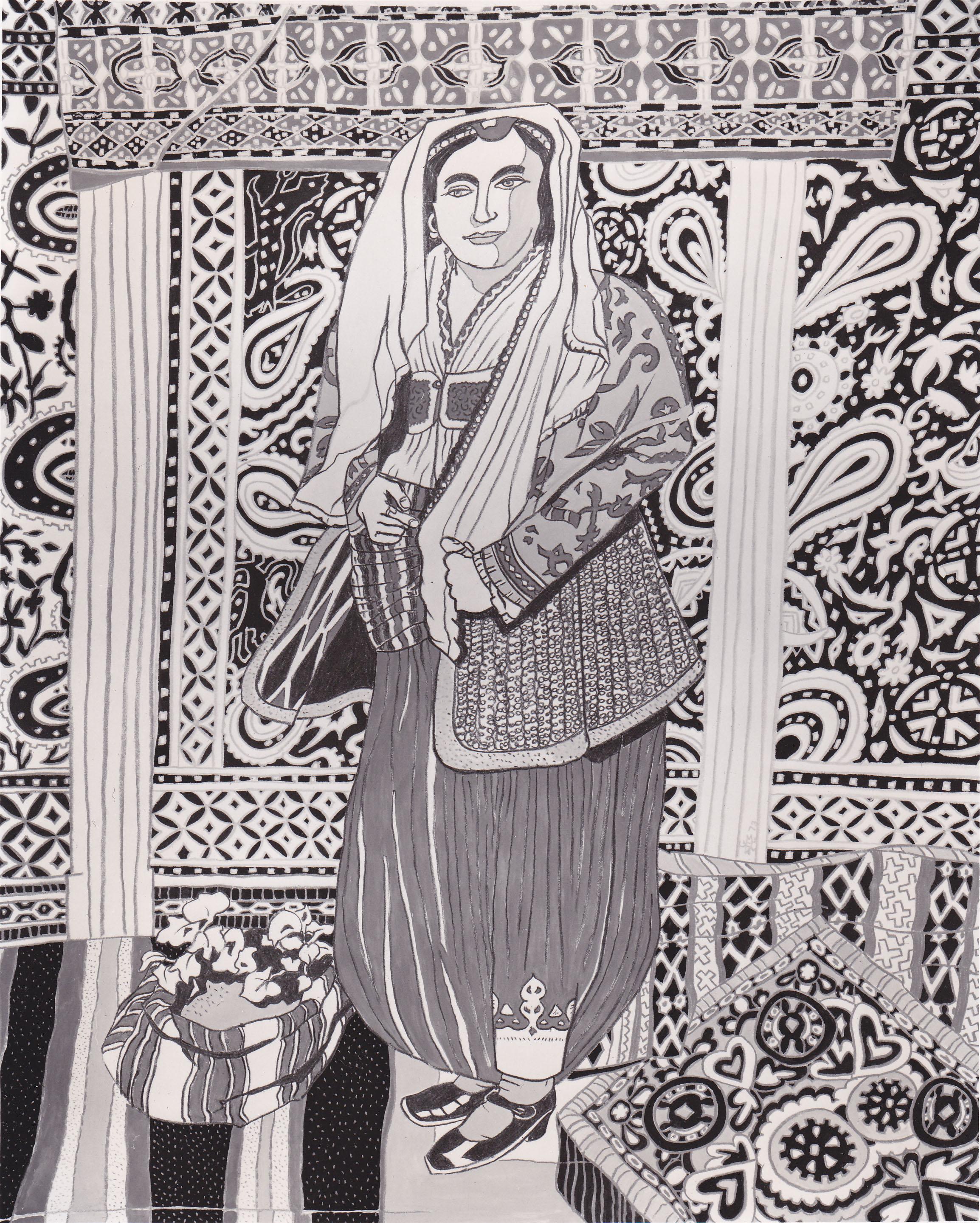 Macedonian Woman, ?, silkscreen, 1973.jpg