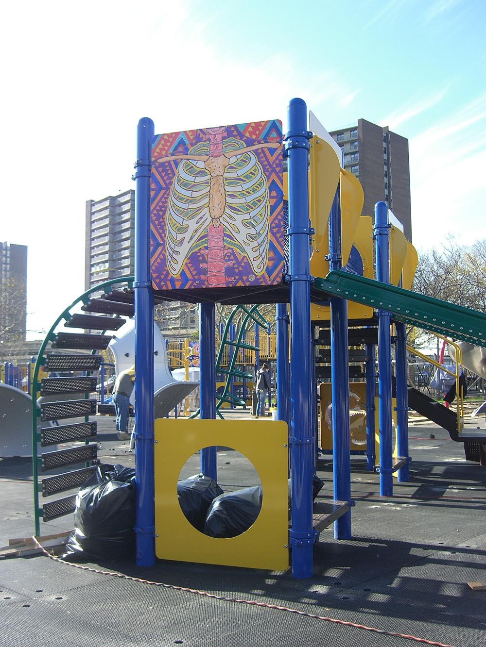 Construction - Robert Venable Park, New York City Park's Department, 2010