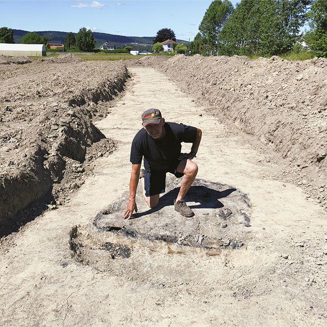 Funnet 3 kokegroper på Borge. Spor etter livet her fra folkevandringstiden, omkring 0-500 e.Kr.