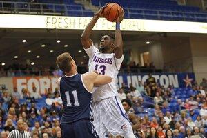 Image 2. UT-Arlington Men's Basketball athlete.