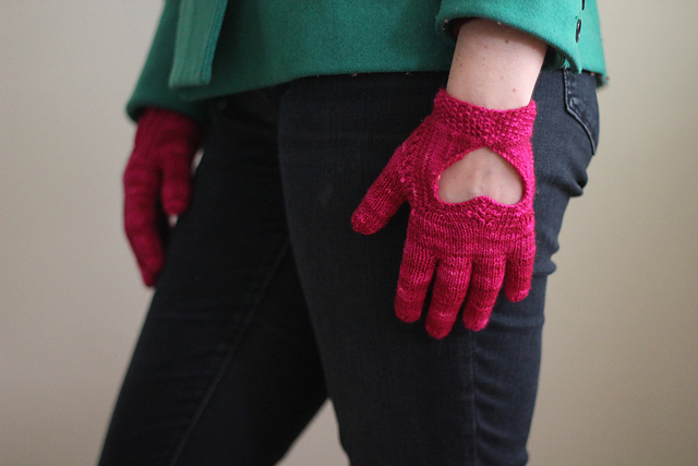 No Glove(s), No Love, designed by Claire Sandow.