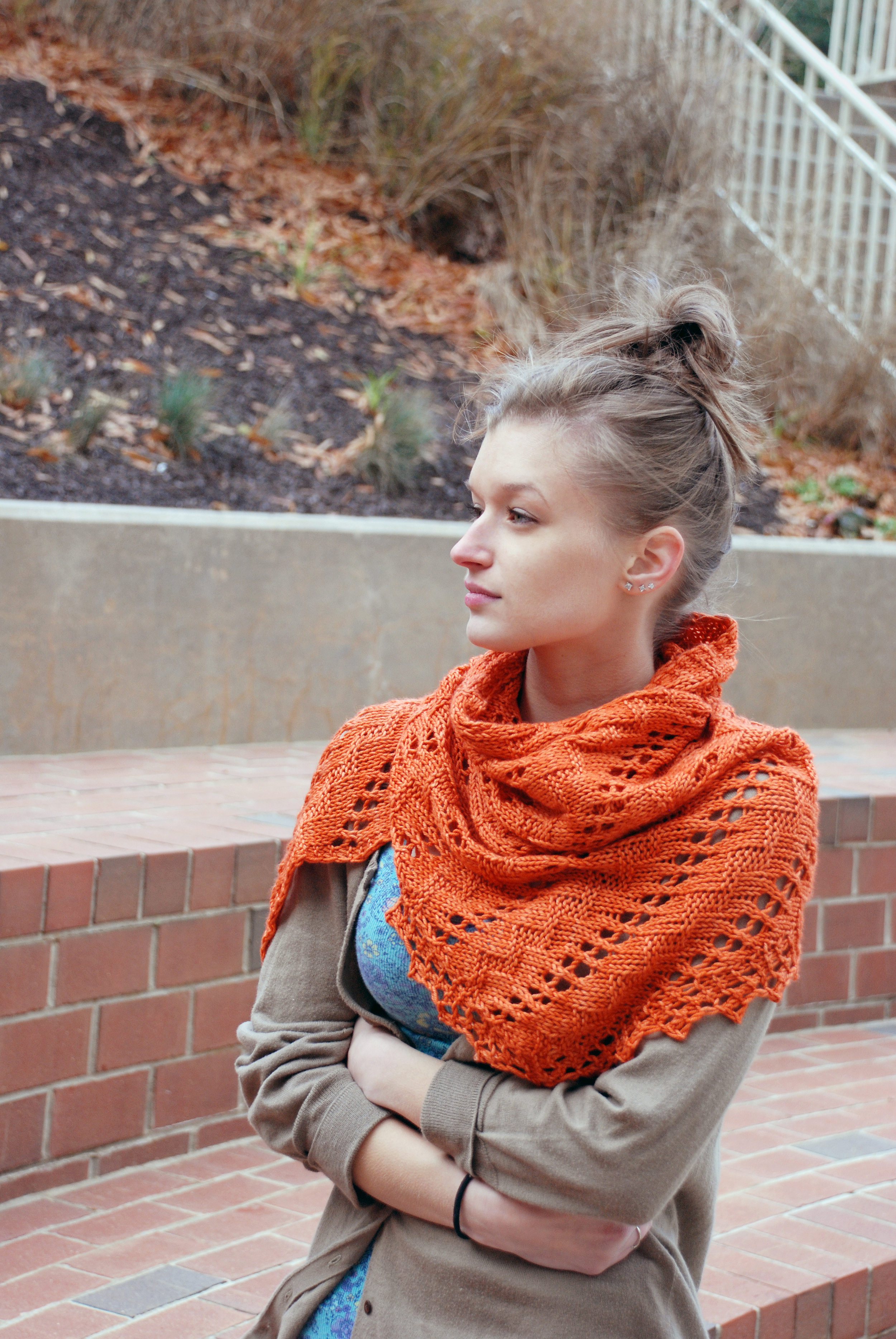 Kahel, knit in For Better or Worsted, shown in Arizona.