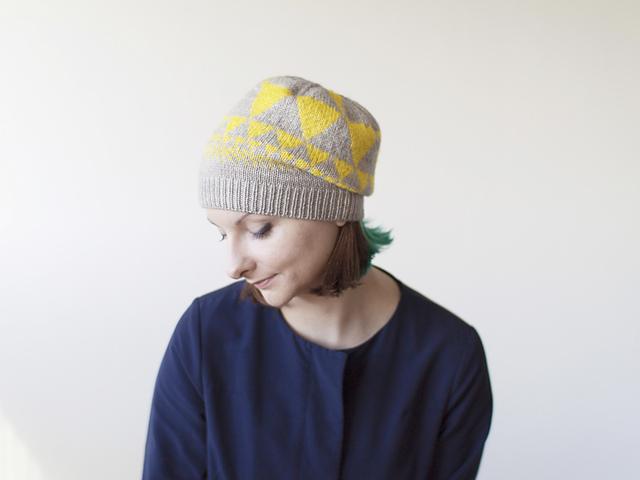 Fractals Hat by Olga Buraya-Kefelian