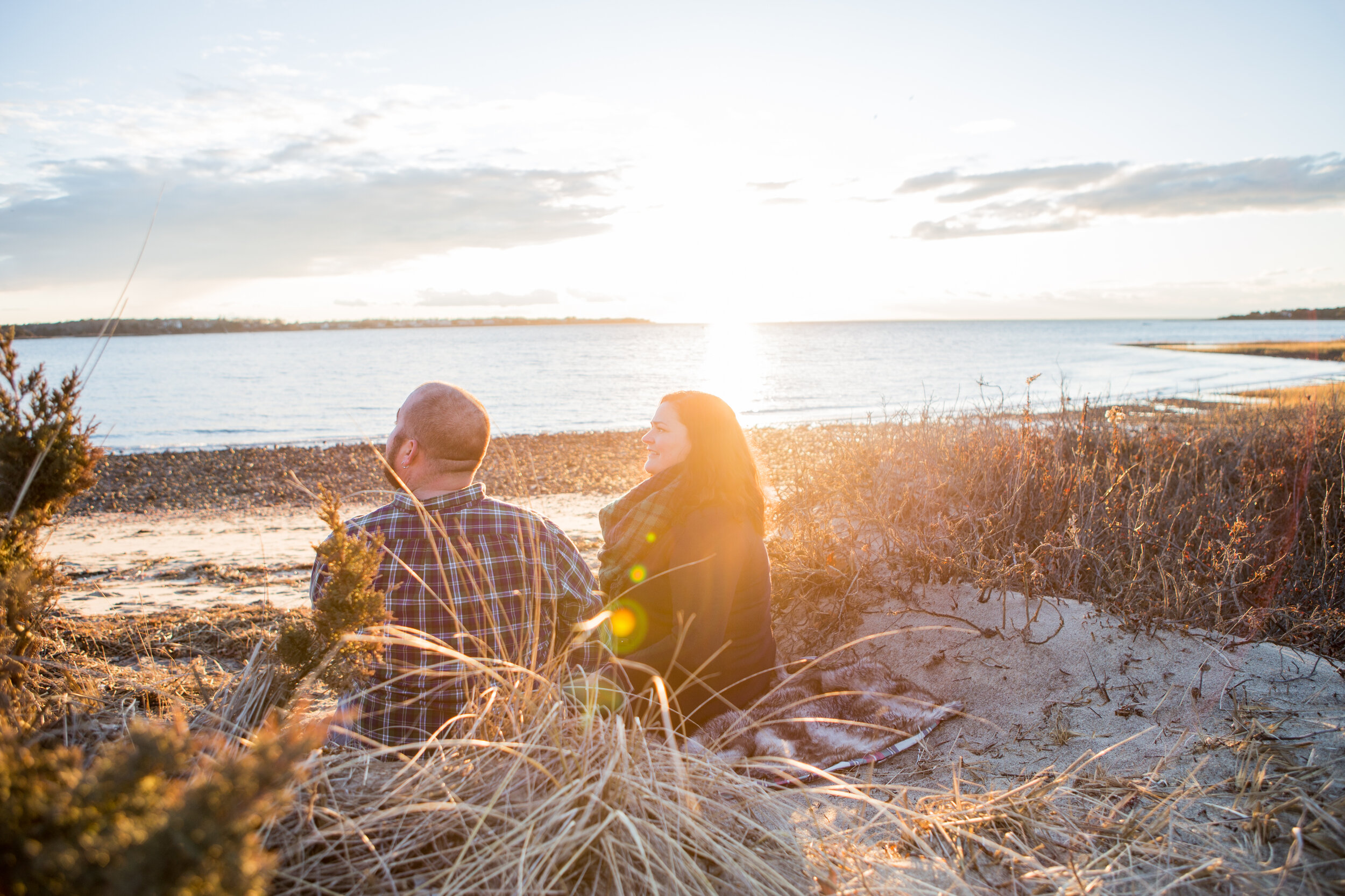 We took a minute to enjoy the sunset before heading over to the Jetty.