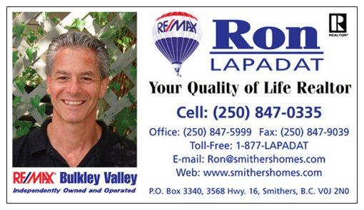 Ron Lapadat REALTOR Web Site