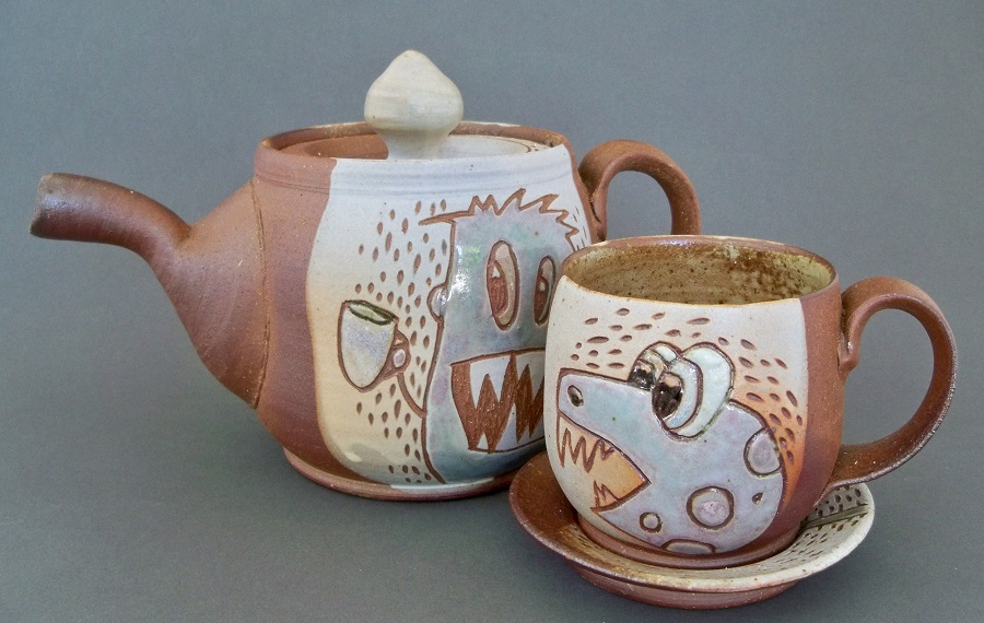 by Anne Partna from Blue Hen Pottery