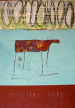 Encaustic by Lynn Bregman Blass