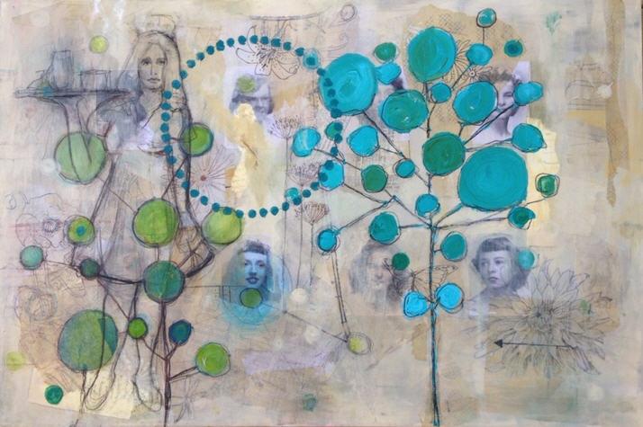 Estranged Family Tree by Donna Stubbs