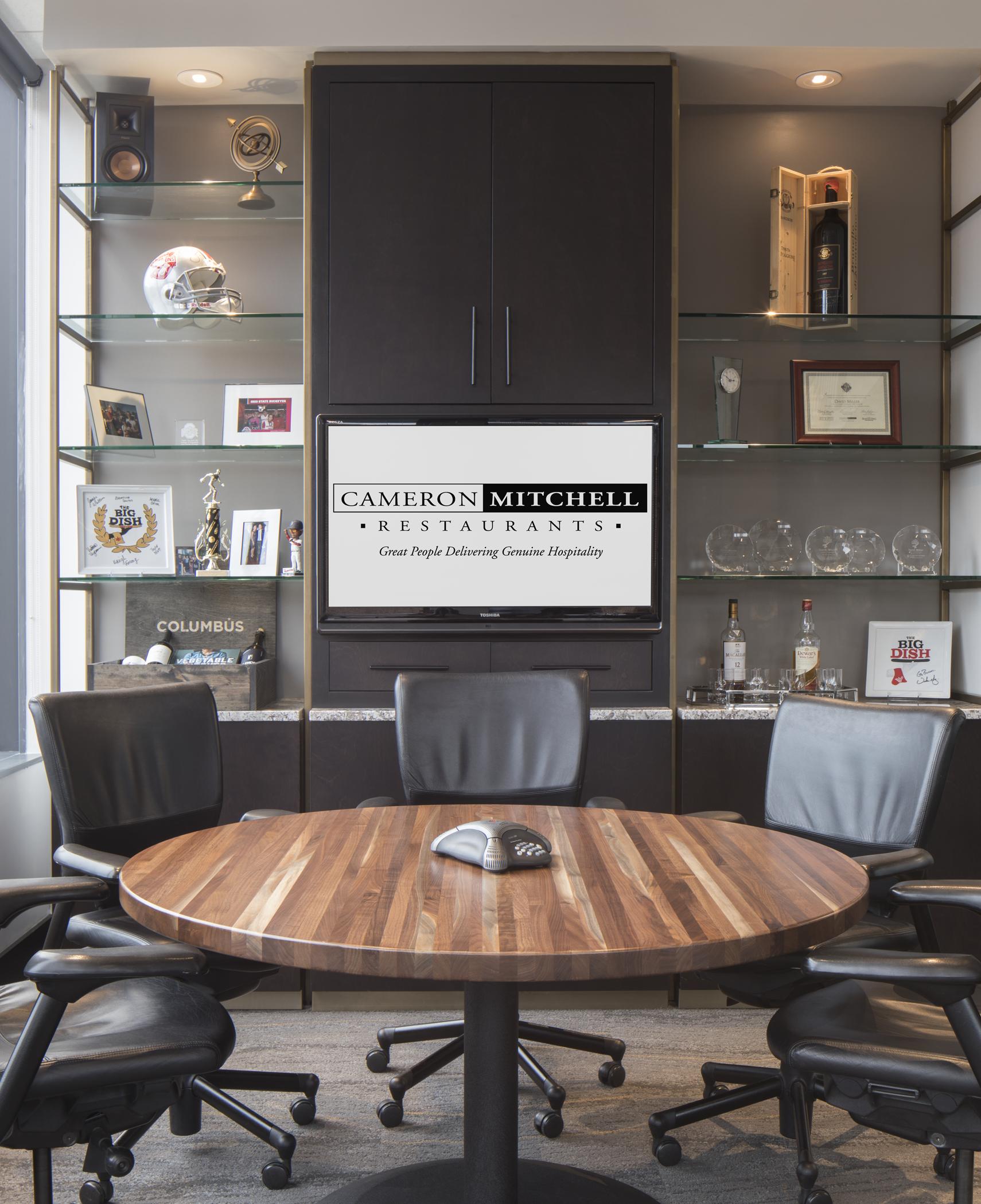 Cameron Mitchell Restaurants Headquarters Design Collective
