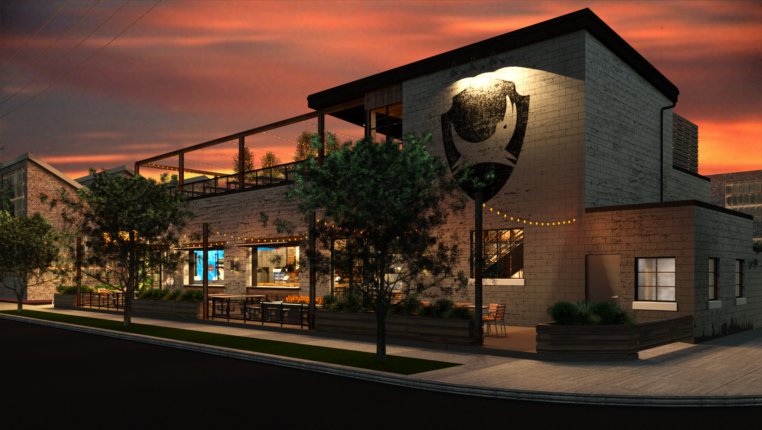 BrewDog_Franklinton_-_Central_blacount.rvt_2017-May-21_06-44-28PM-000__Render_-_Exterior_Looking_East_Night.png