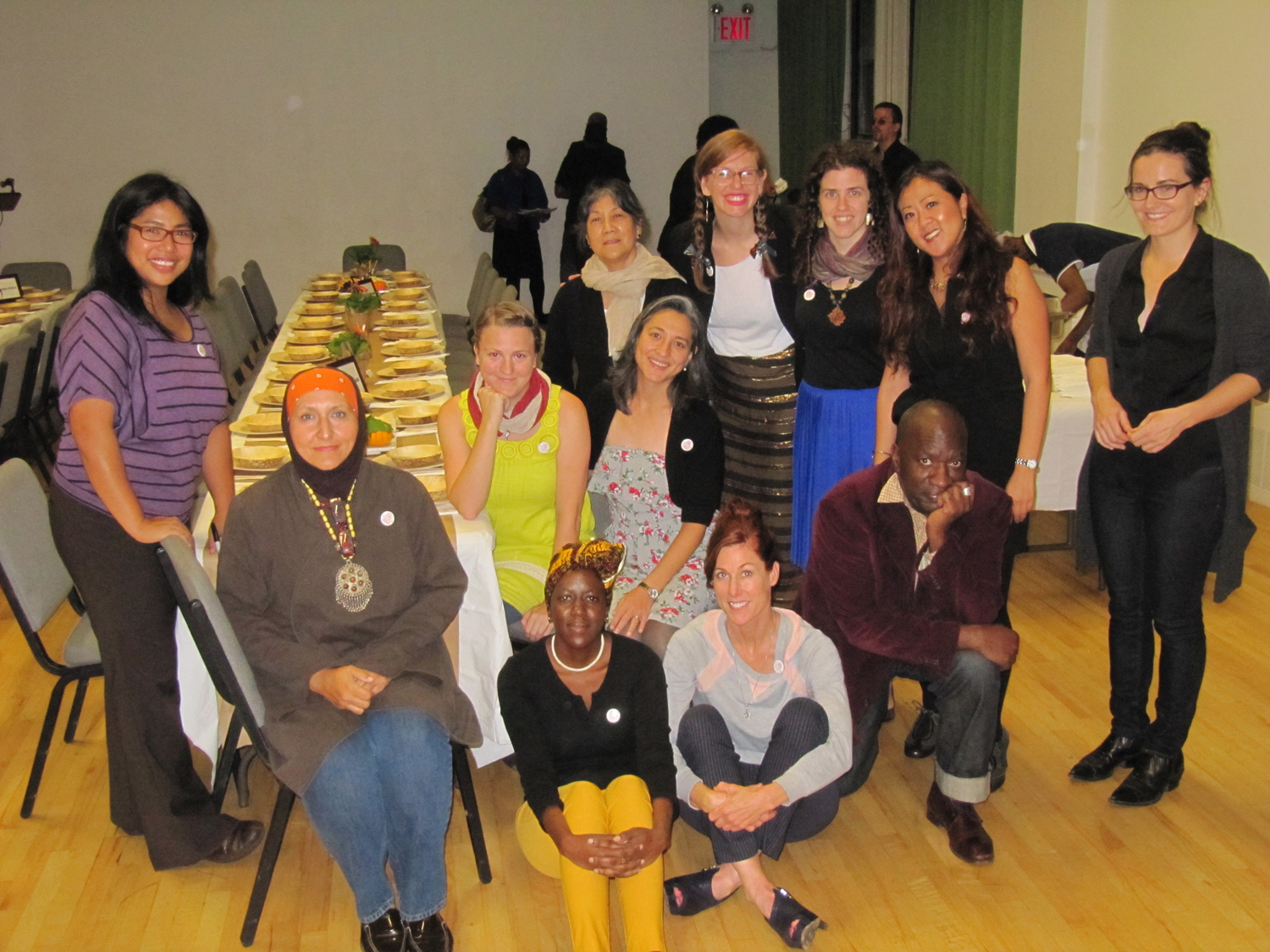 The Laundromat Project Create Change cohort, 2012   http://laundromatproject.org/tomie-arai-betty-yu/