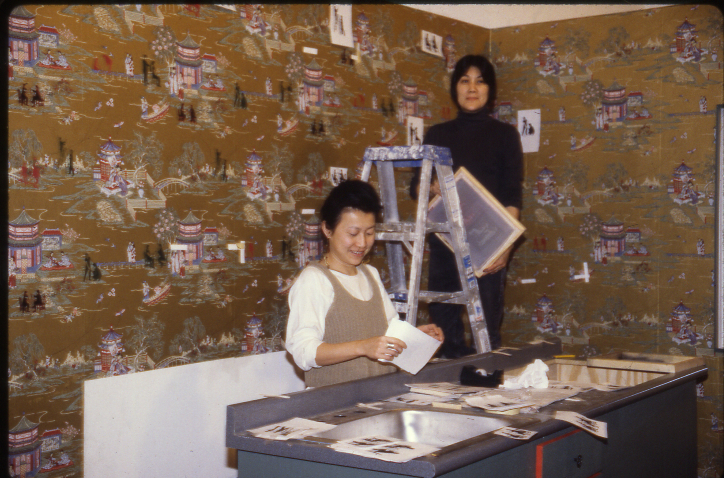 Collaborating with Millie Chen for 'Kitchen' at Art in General