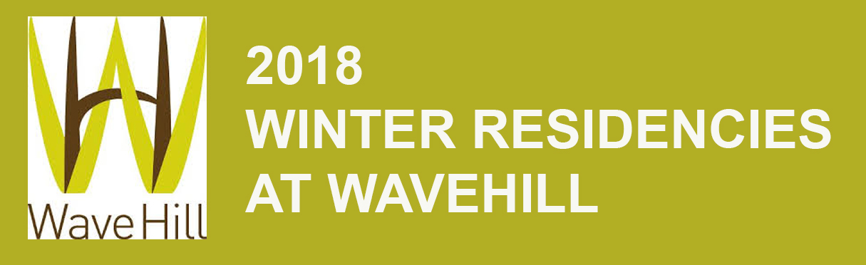 This winter, I will be participating in  Wavehill's Winter Workspace 2018 Program  with artists Jean Shin, Camille Hoffman, Pedro Ramirez, Jessica Roher and Austin Thomas. Excited to be a new member of the WaveHill artist community!