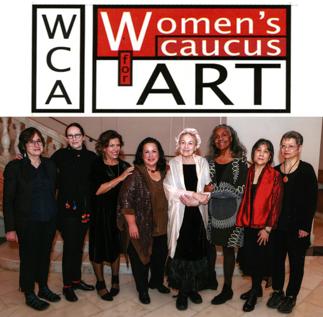 Thank you to the Women's Caucus for Art for honoring me with a  2016 National Lifetime Achievement Award  at their annual conference in Washington DC. on February 9, 2016. Congratulations to my fellow honorees; Helene Aylon, Sheila Levrant de Bretteville and Juana Guzman.  L to R: Joyce Kozloff, Sheila Levrant de Bretteville, Maria de los Angeles, Juana Guzman, Helene Aylon, Brenda Dixon-Gottschild, Tomie Arai, Margo Machida.
