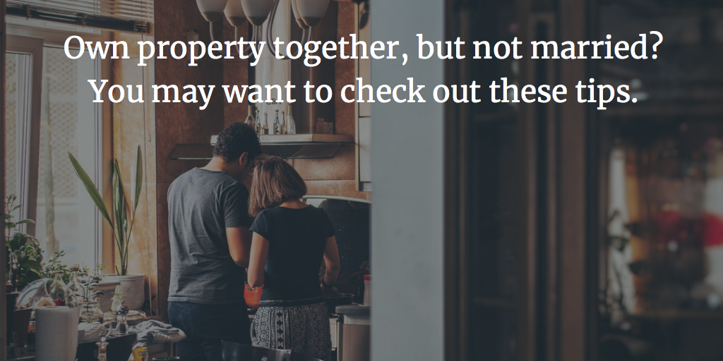 Unwed Joint Property Owner Tips | Schooley Law Firm | Richmond VA