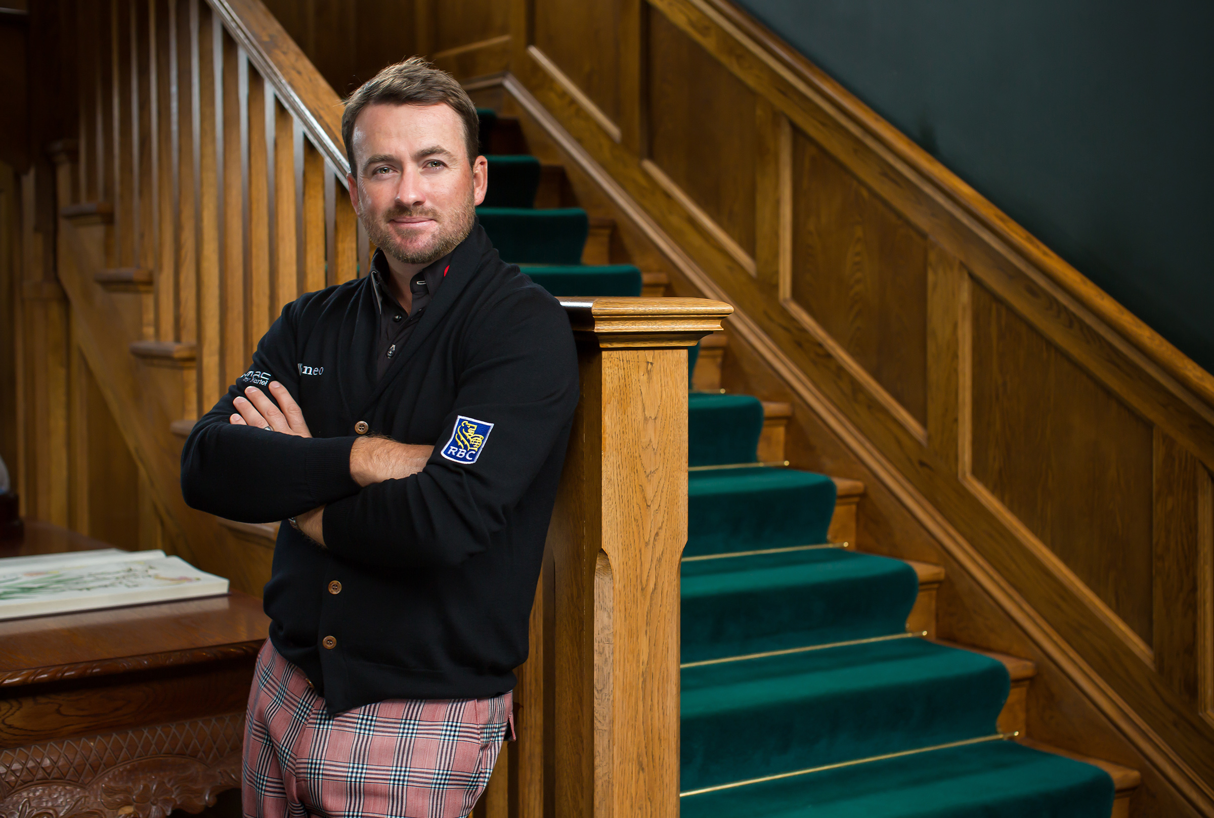 Graeme McDowell at Portmarnock Golf Club for Cara Magazine.