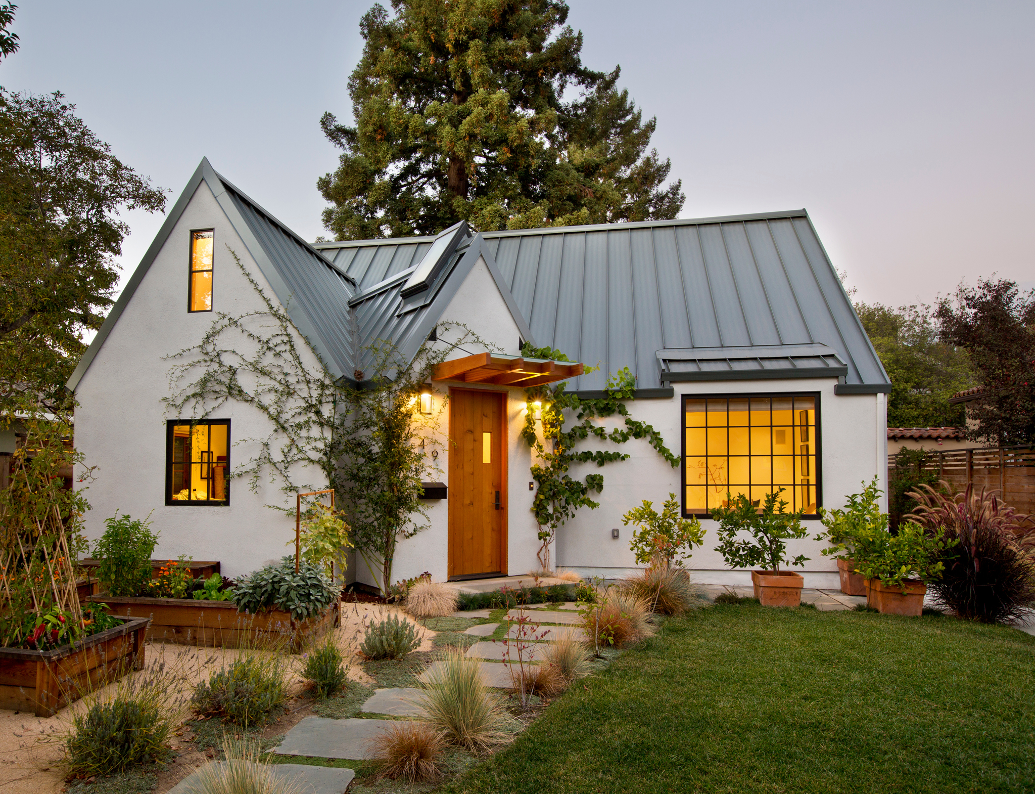 a 1920's cottage updated for modern living