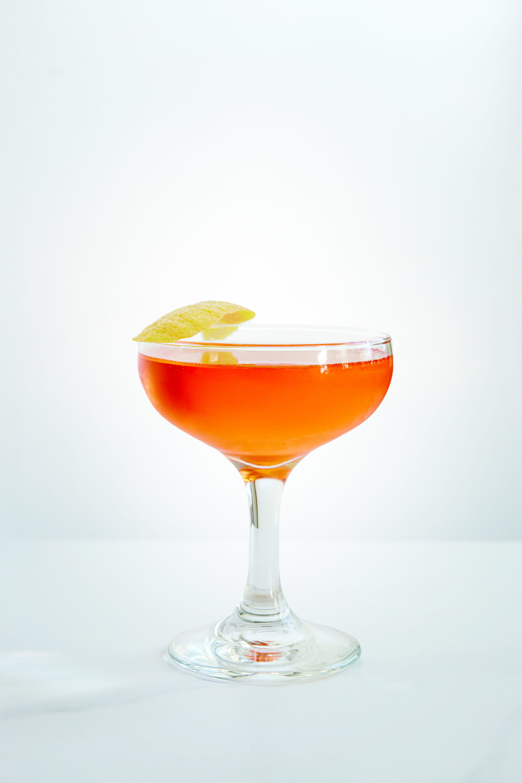 THE JOSHUA TREE   1 oz Chareau  1 oz Tequila  1 oz Aperol    Stir over ice and strain into coupe. Garnish with Lemon twist.