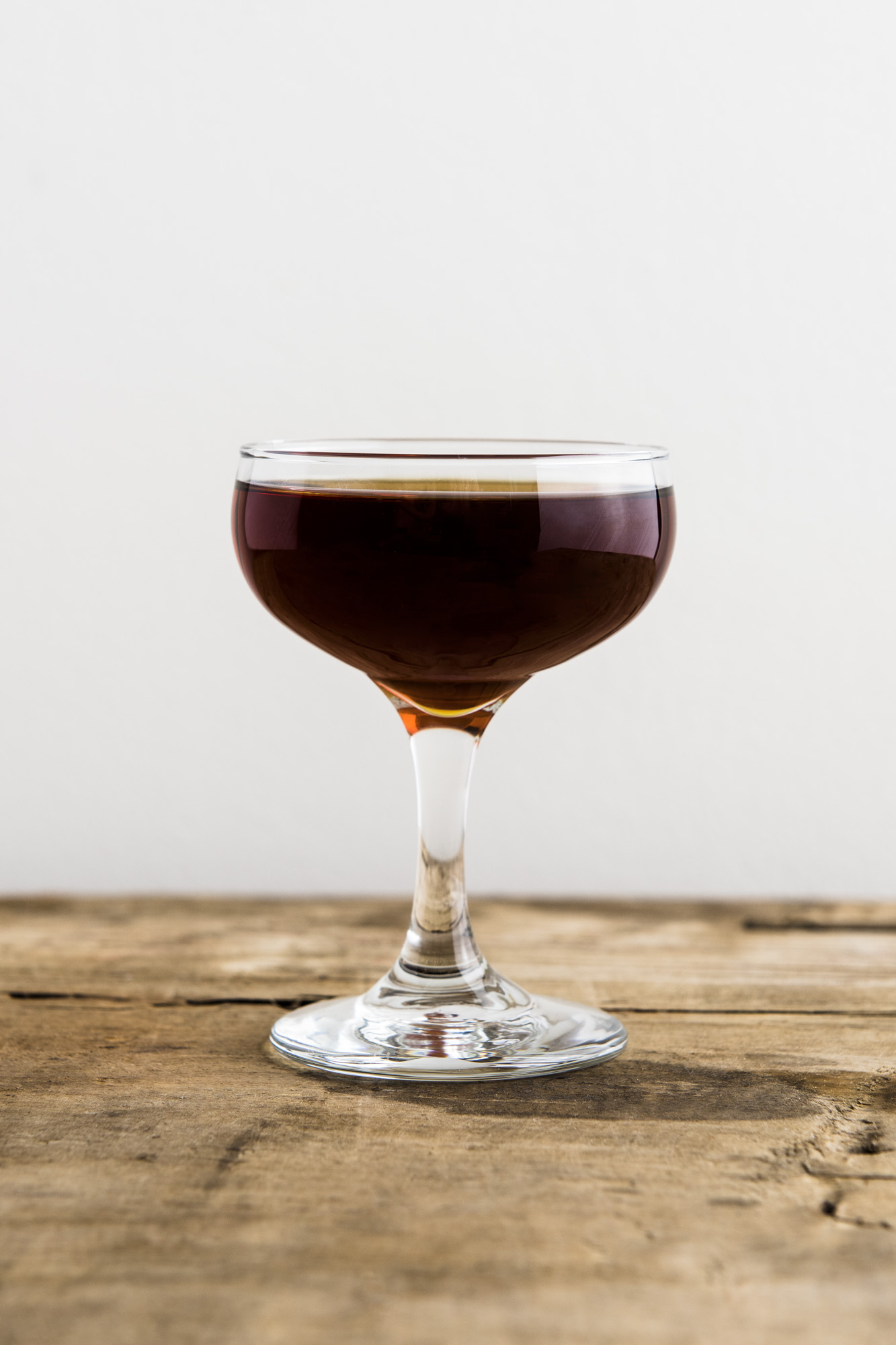 AMERICAN RAVEN   1 oz Cognac or American Brandy  1 oz Chareau  1 oz Fernet Branca  Stir all ingredients over ice. Strain into coupe.