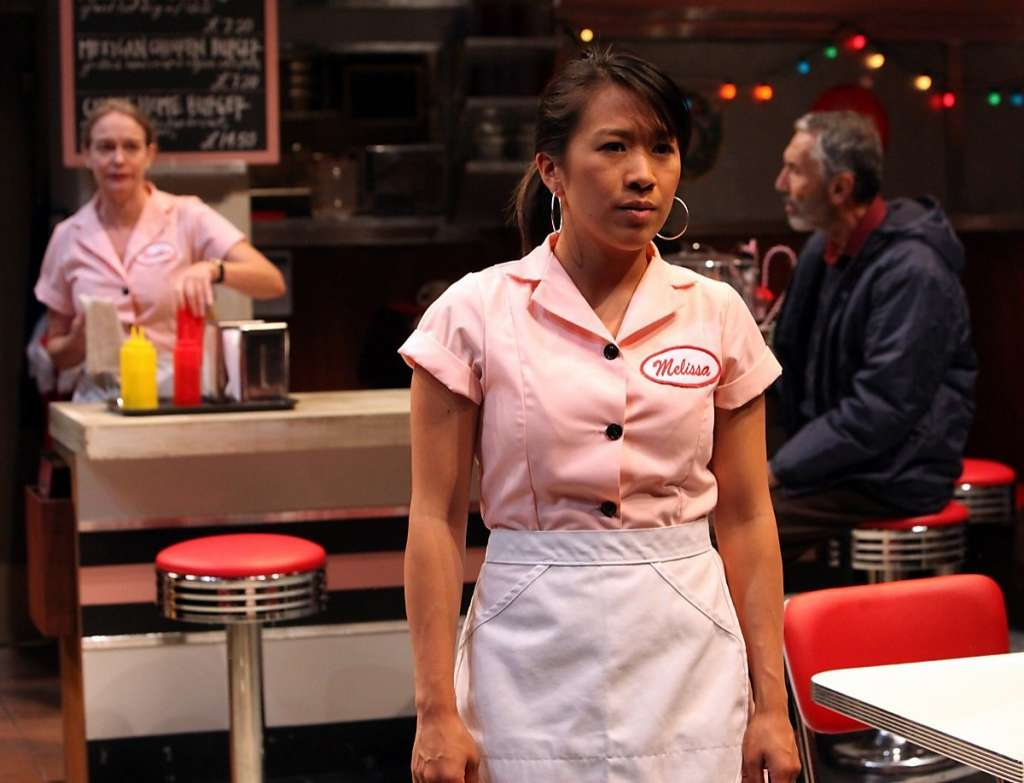 Mel in Fred's Diner by Penelope Skinner