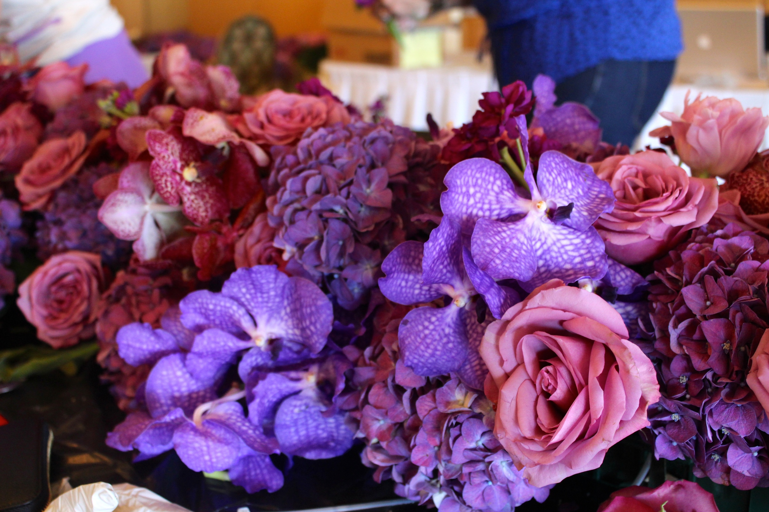 Purple Wedding Flowers | JoAnna Dee Weddings