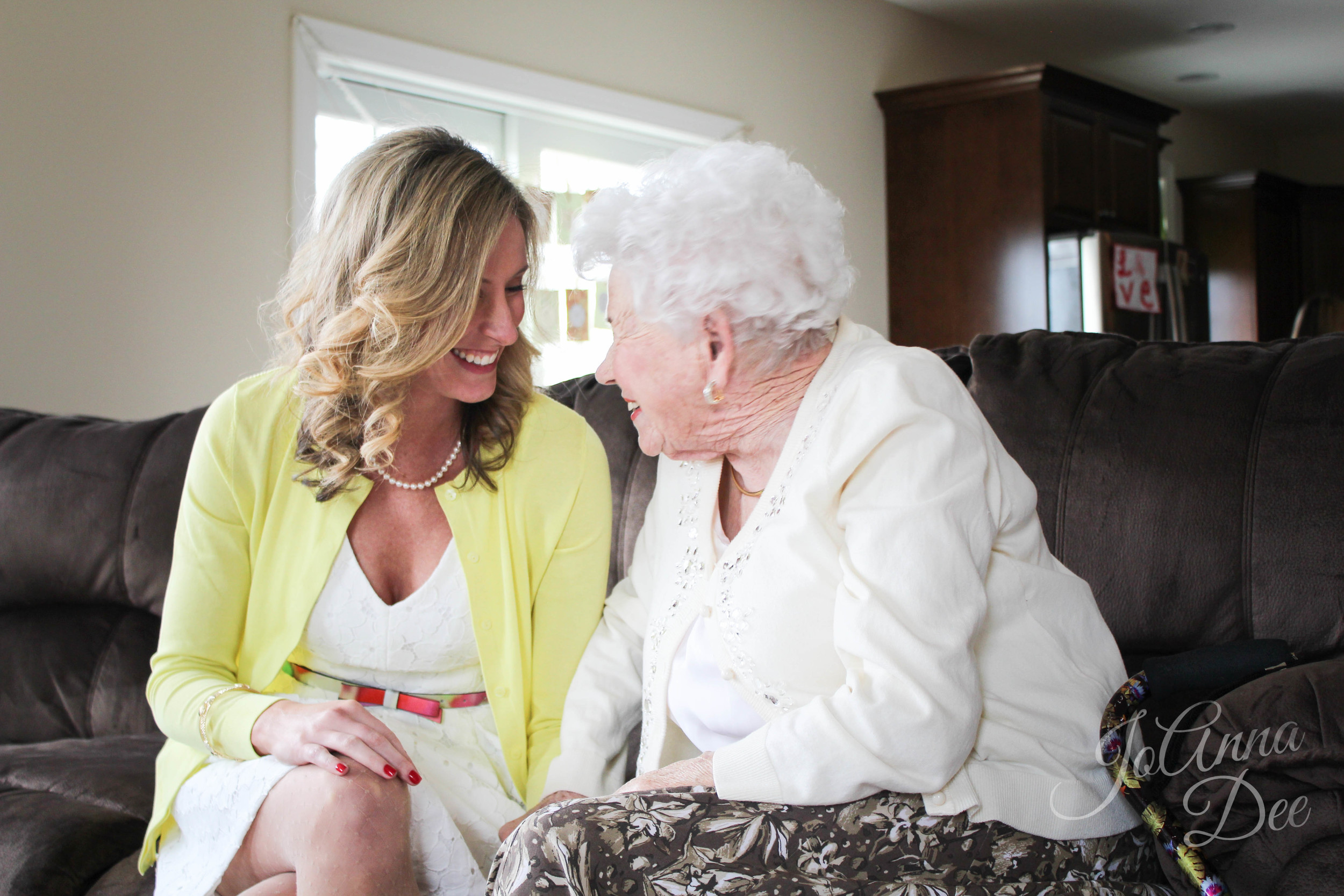 Bride and Grandma Sweet Love Bridal Shower | JoAnna Dee Weddings