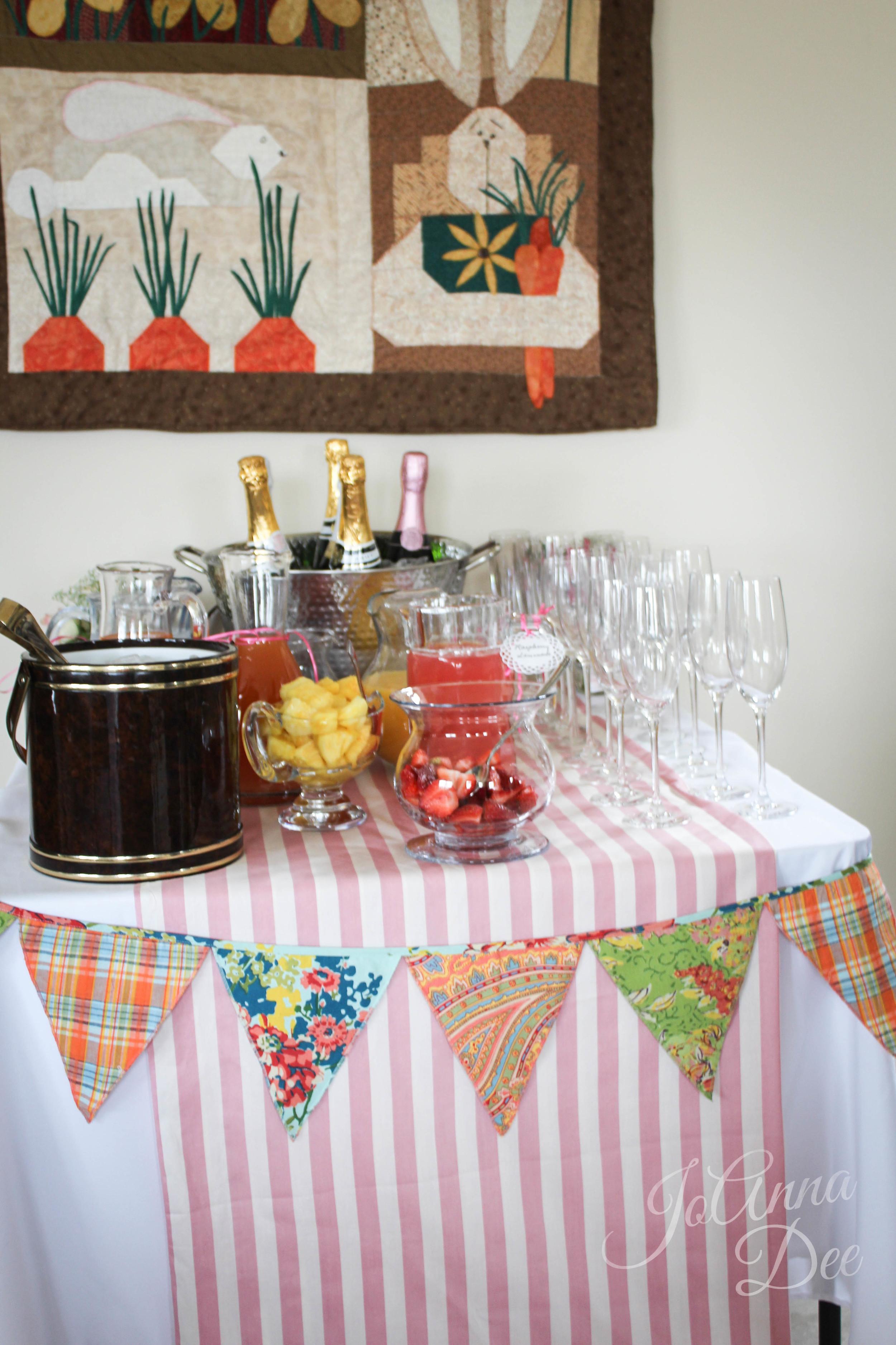 Mimosa Bar | JoAnna Dee Weddings