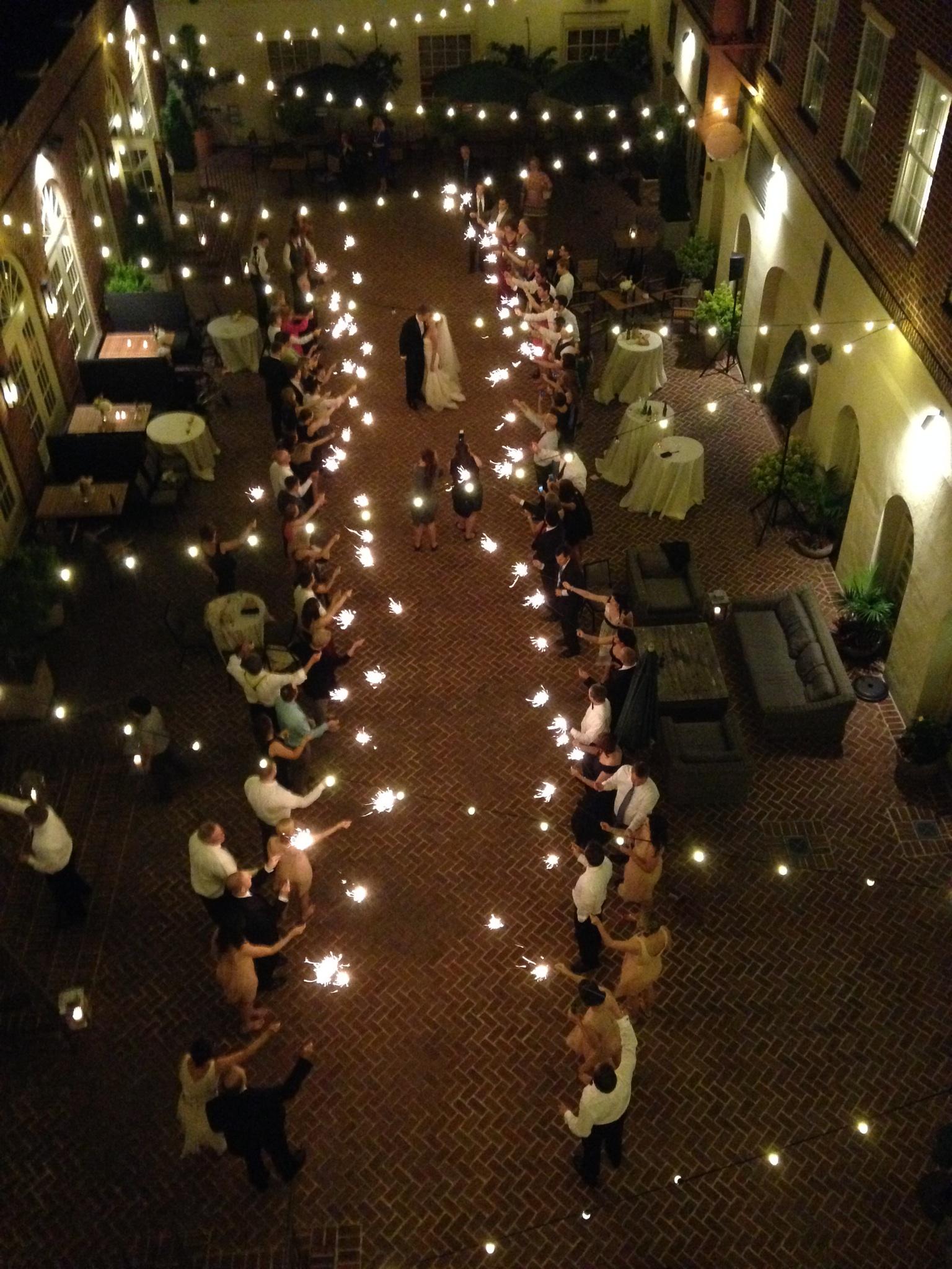 Sparkler Send off | JoAnna Dee Weddings