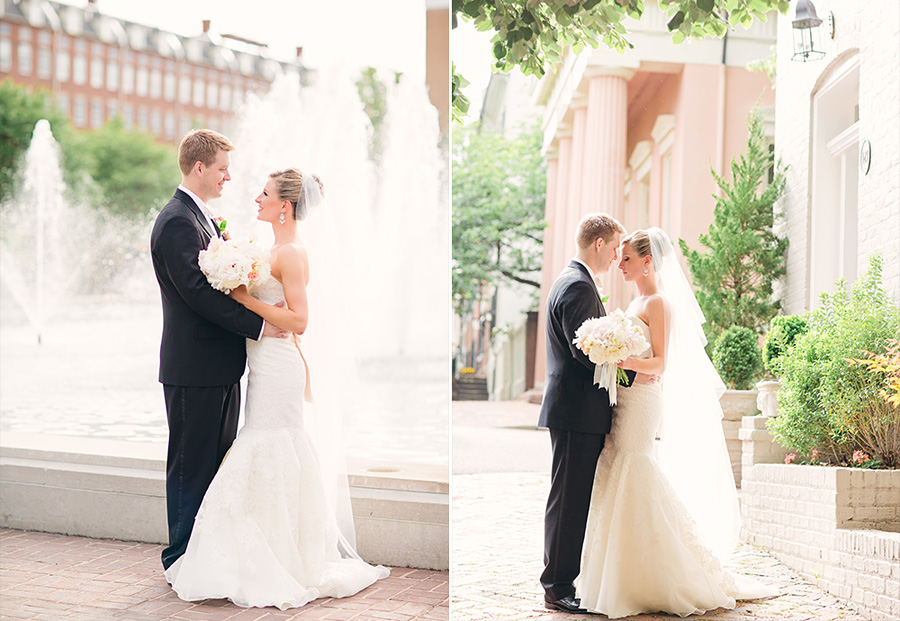 The Black Tie Bride Feature: Old Town Alexandria, VA Wedding with Dyanna Joy Photography
