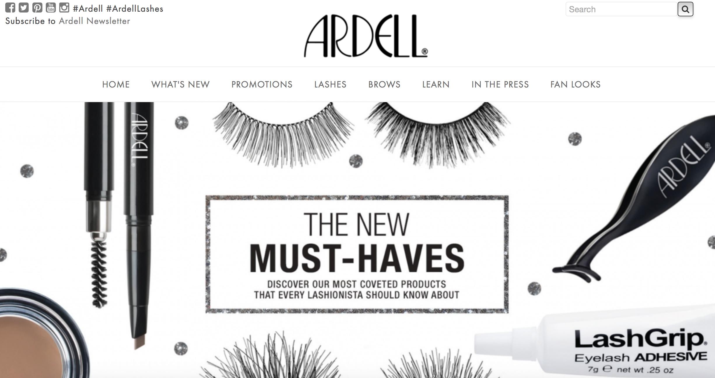 Ardell Fake Eyelashes - Wedding Beauty