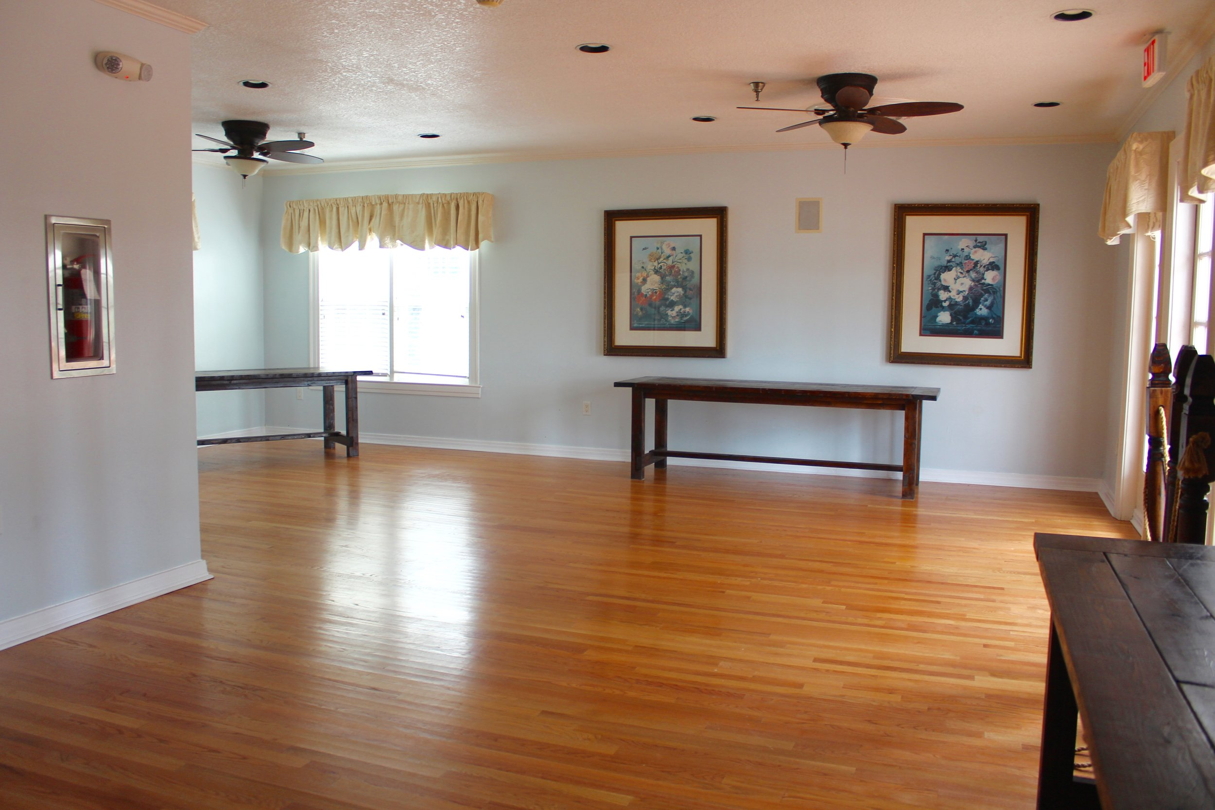 Cypress Grove Estate | Indoor Buffet Room