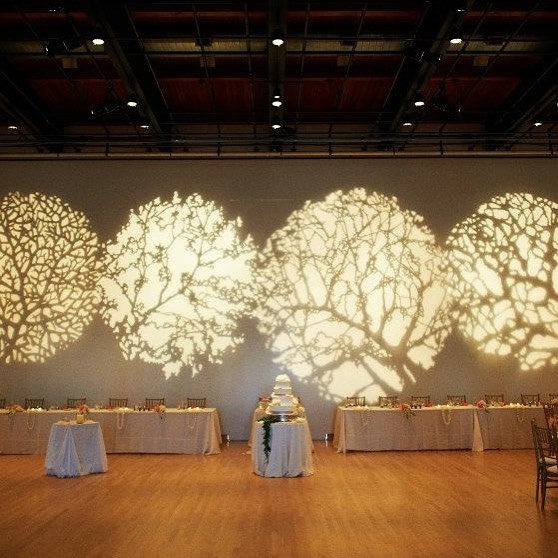 The stencil lighting was one of my favorite decorative touches at our wedding 5 years ago :) @jmkac #5yearanniversary
