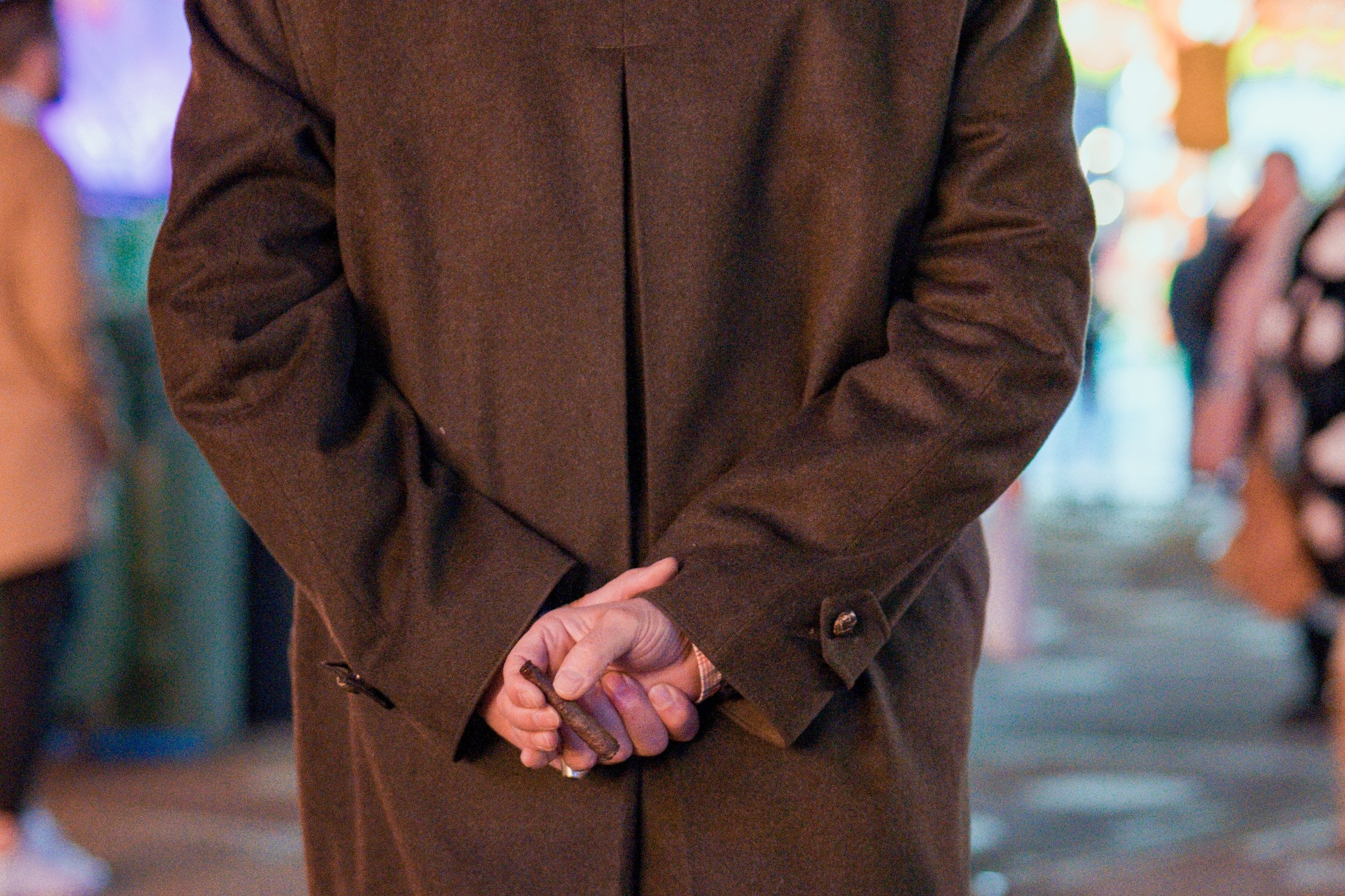 OUR COATS CAME FROM LOVING GIVERS -