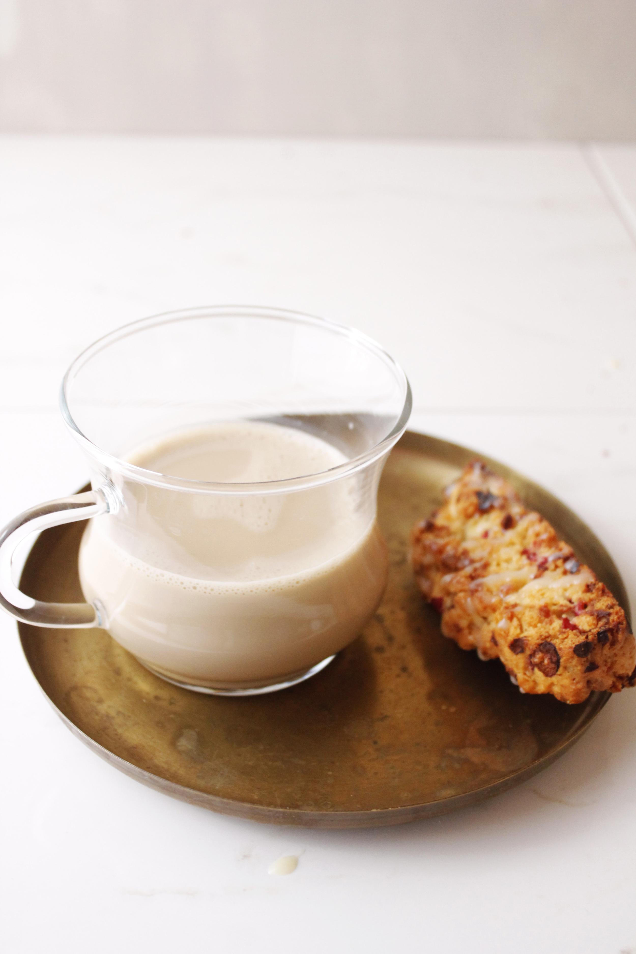Cranberry White Chocolate Biscotti {Pedantic Foodie}