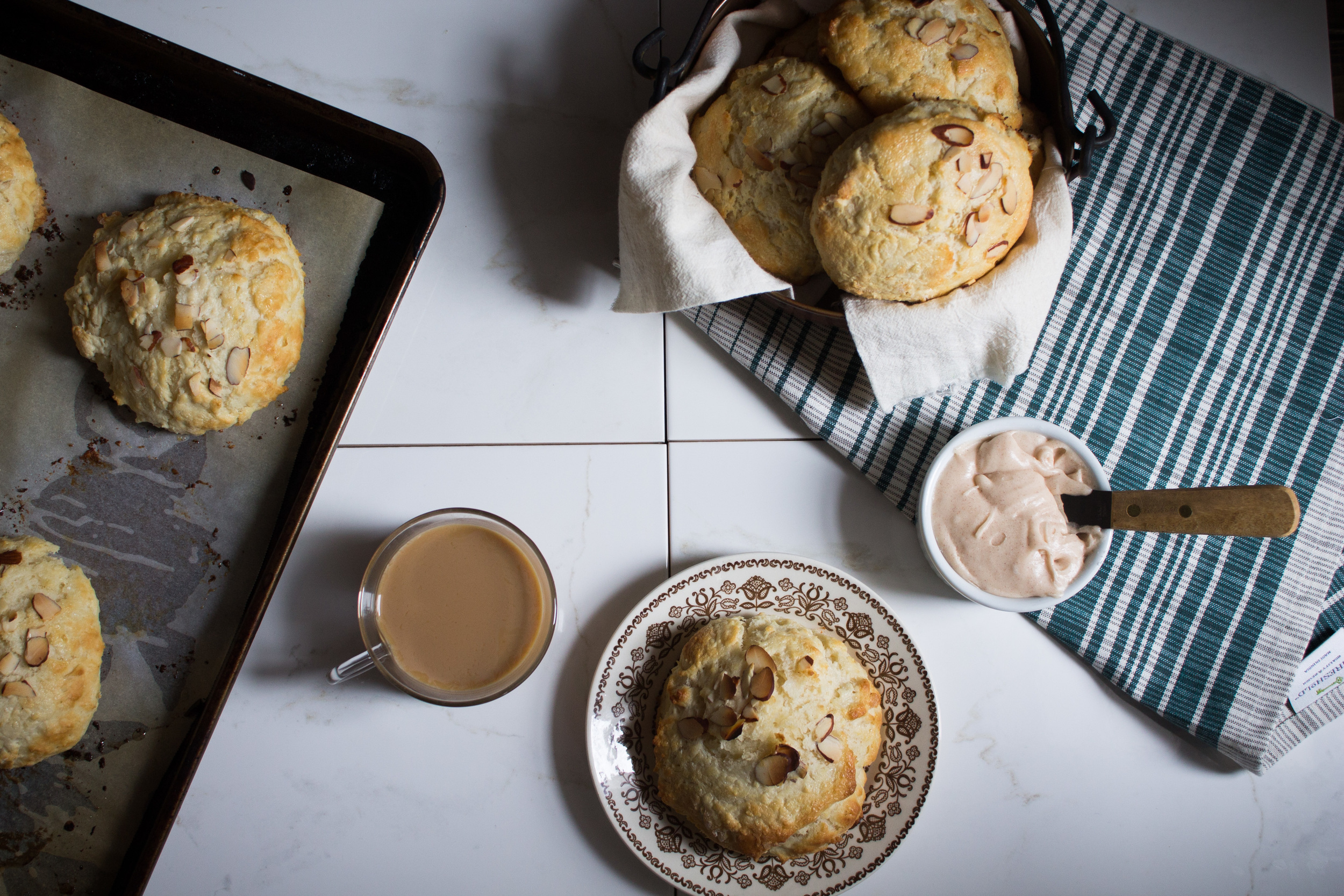 Sweet Buttermilk Biscuits {Pedantic Foodie}