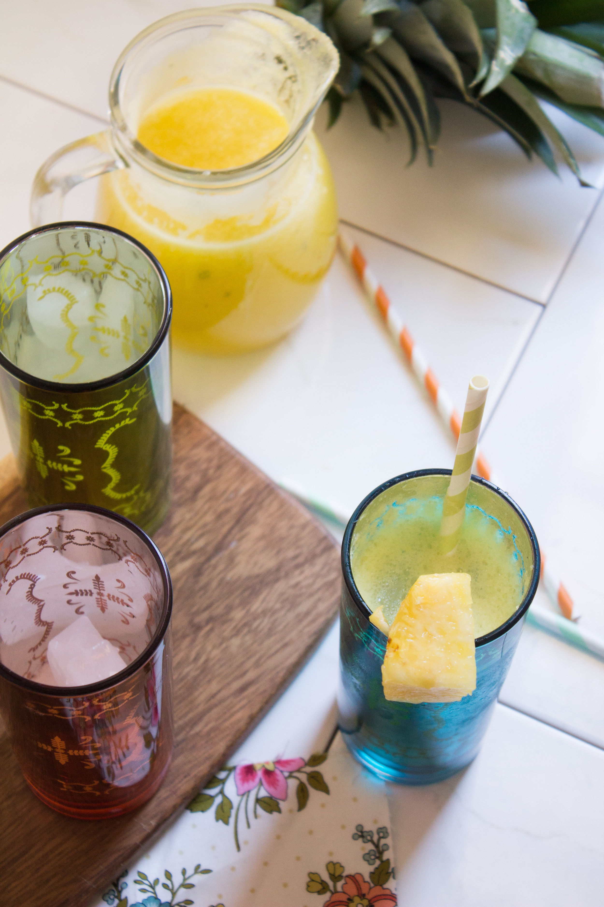Pineapple Sage Soda {Pedantic Foodie}
