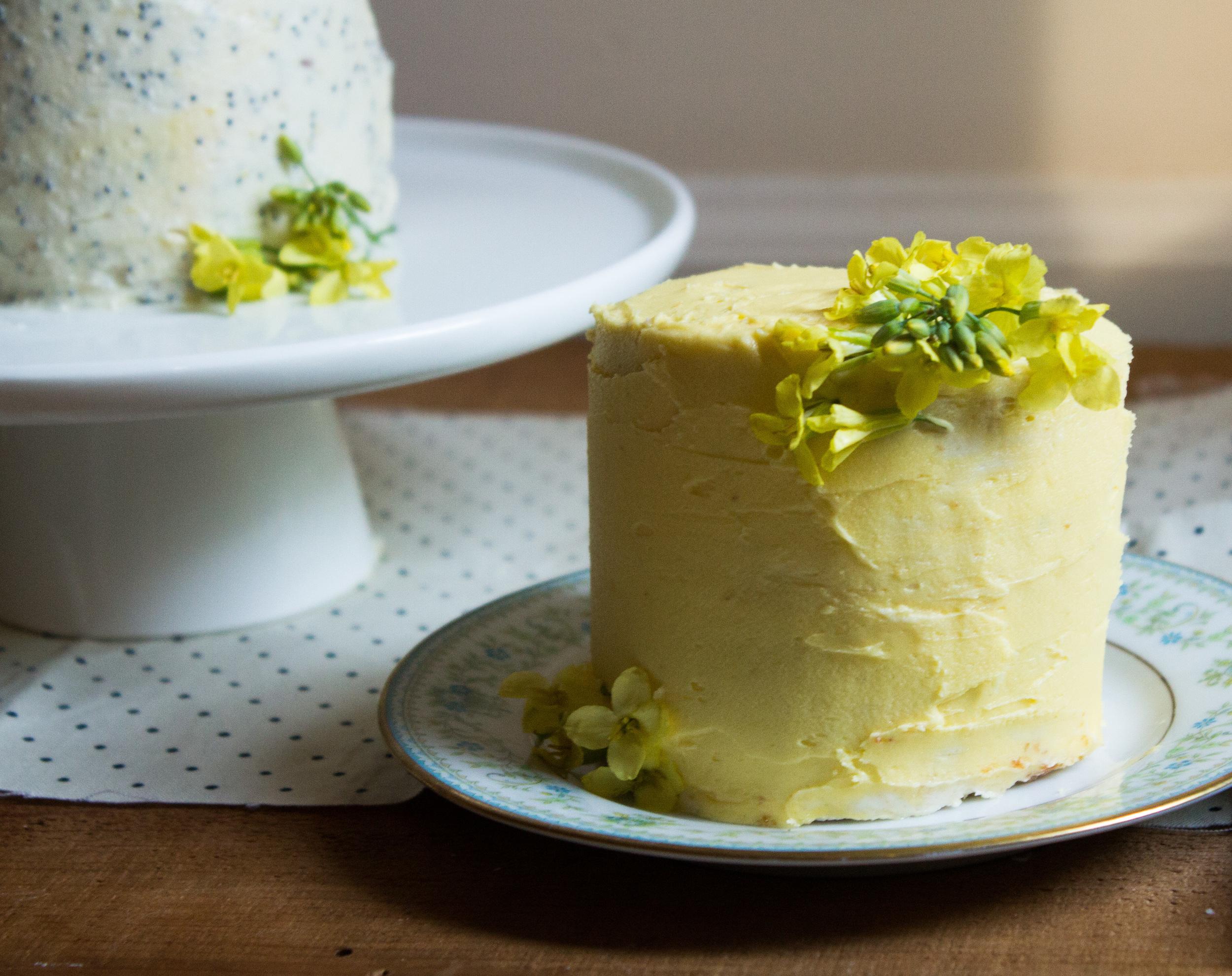 Petite Layer Cakes {Pedantic Foodie}