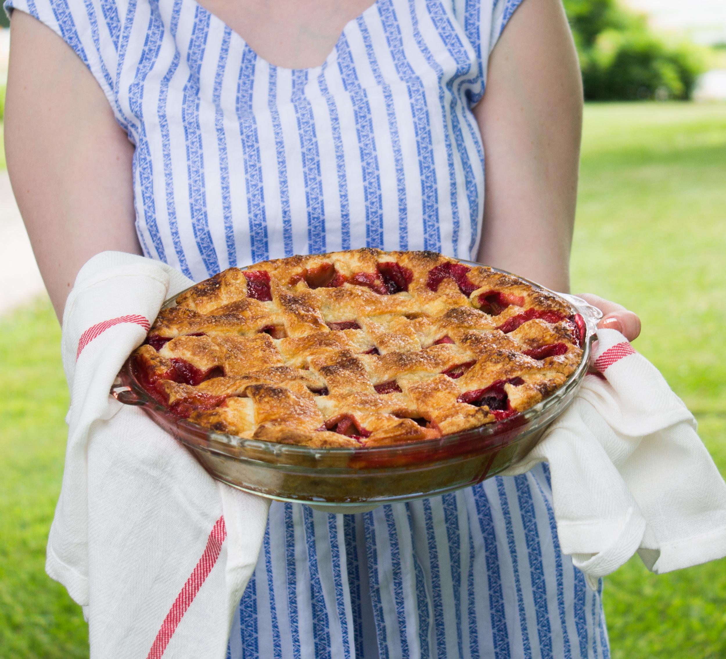 Rhuberry Pie {Pedantic Foodie}