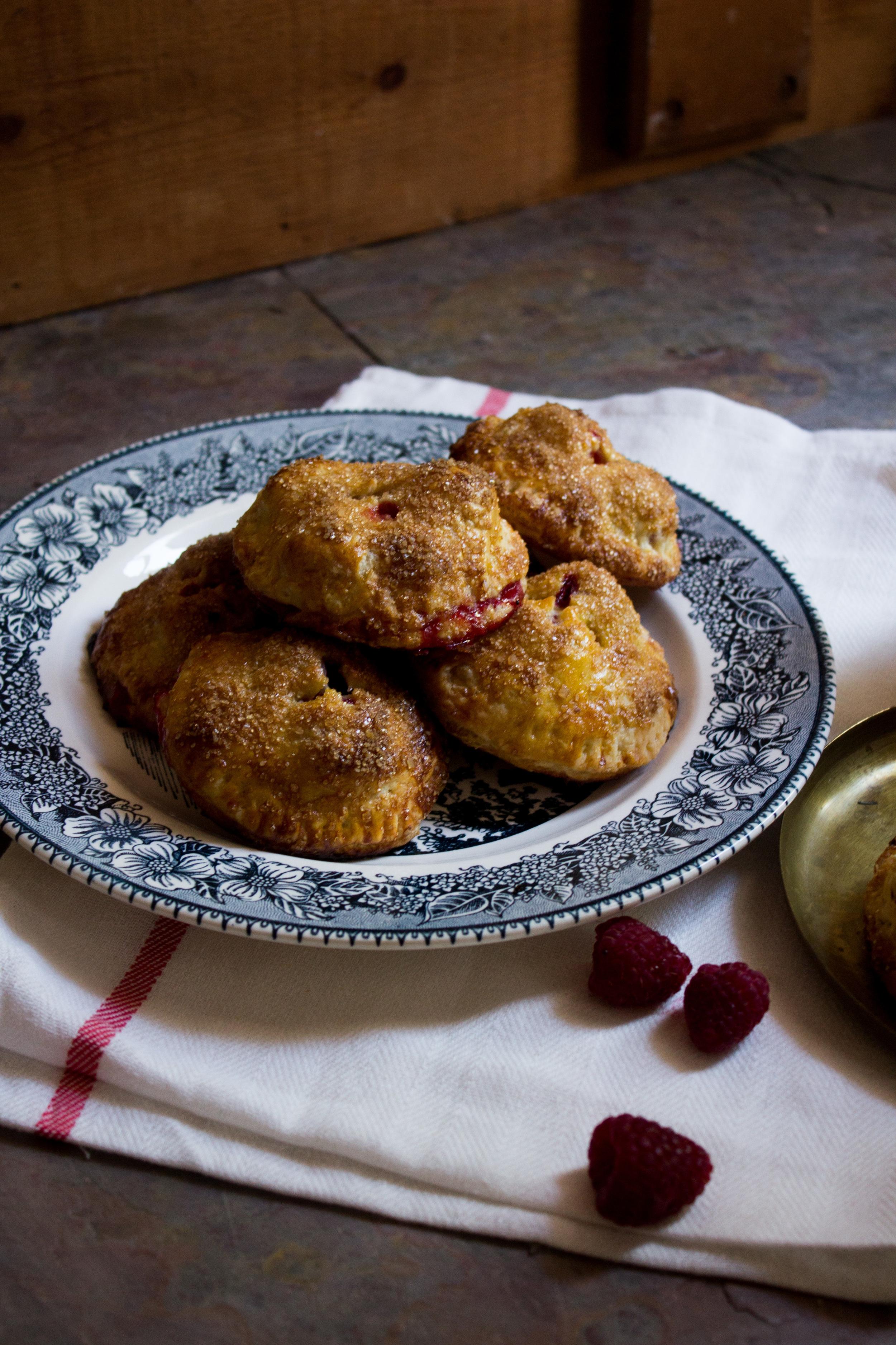 Raspberry Apple Hand Pies {Pedantic Foodie}