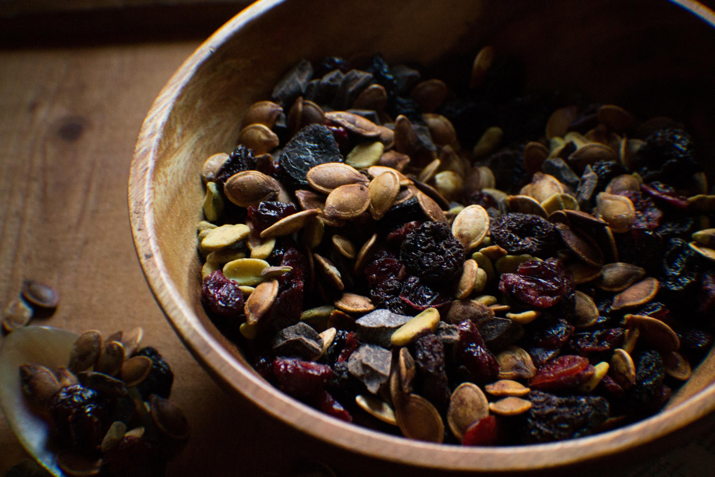 Pumpkin Seed Trail Mix {Pedantic Foodie}