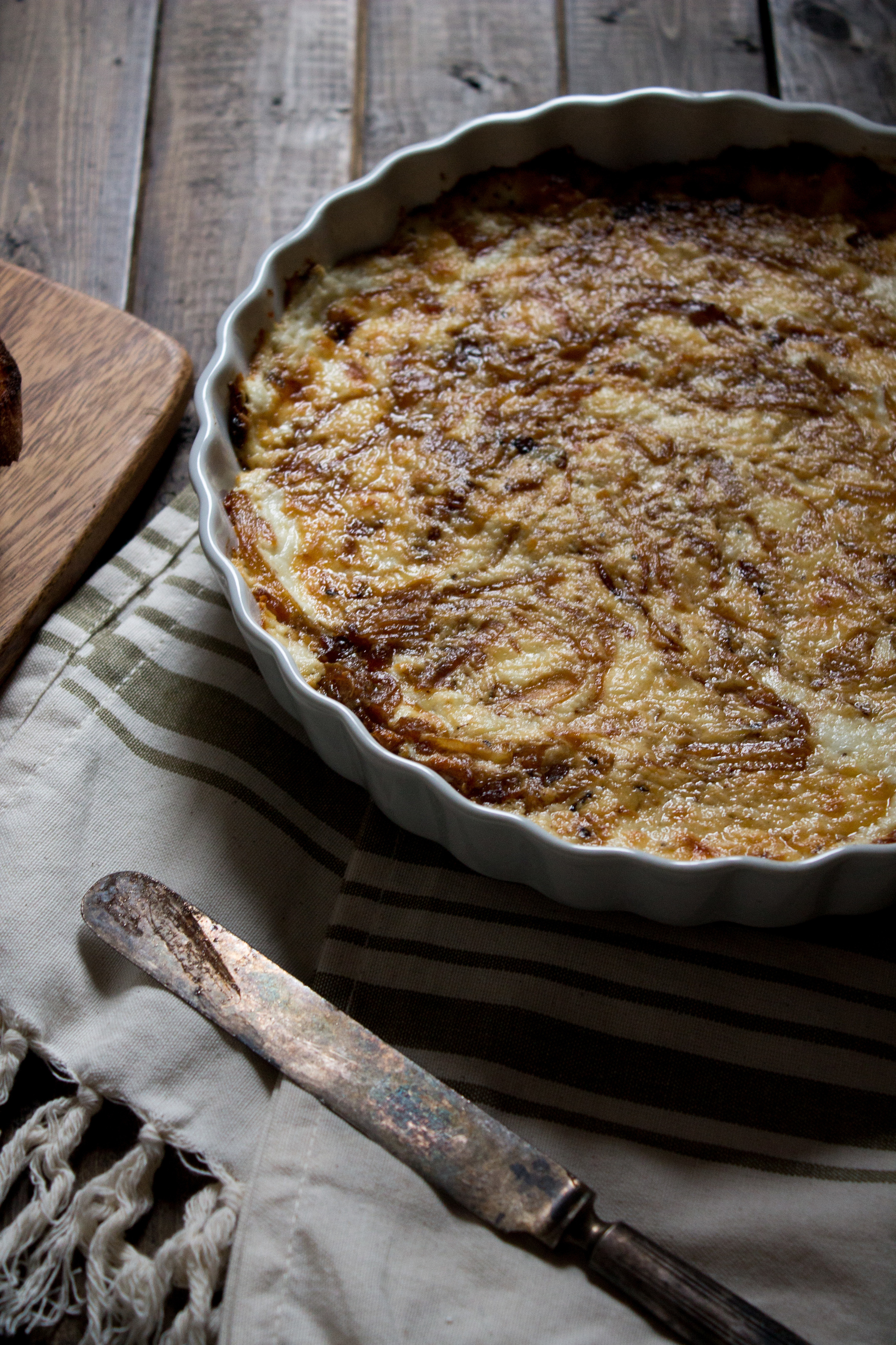 Caramelized Onion and Chèvre Dip {Pedantic Foodie}