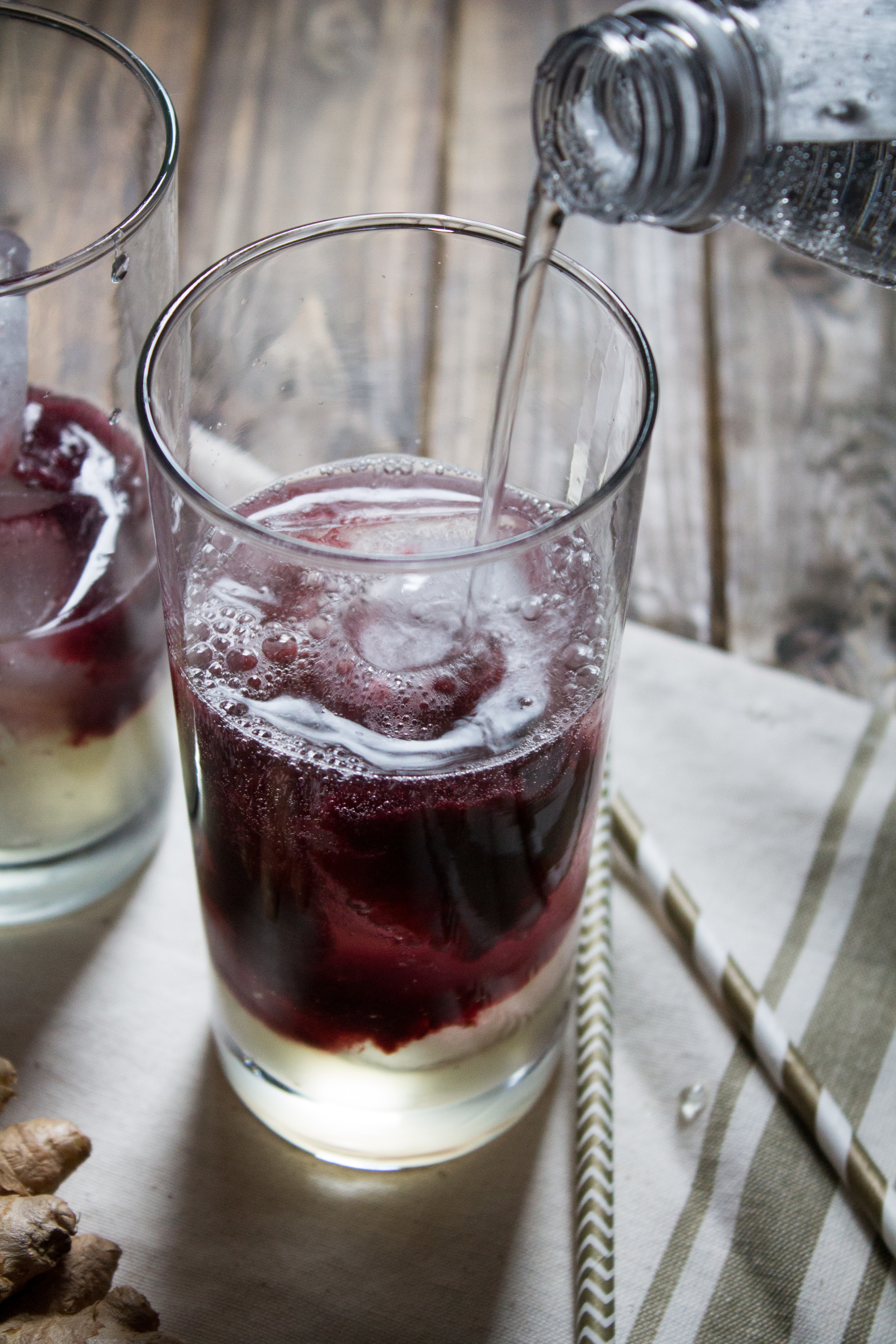 Black Cherry & Thyme Ginger Ale {Pedantic Foodie}