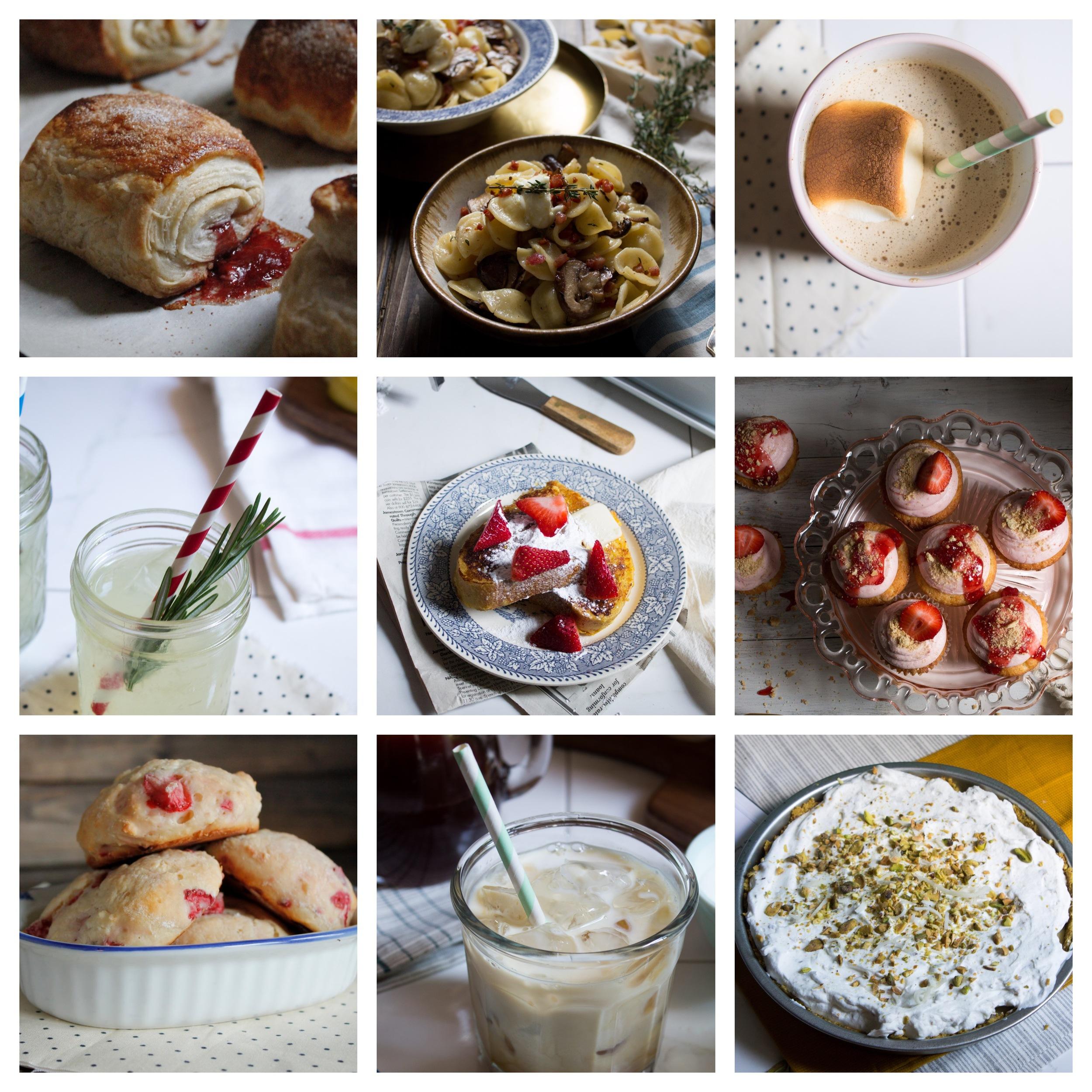 Spring Recipes 2015 {Pedantic Foodie}