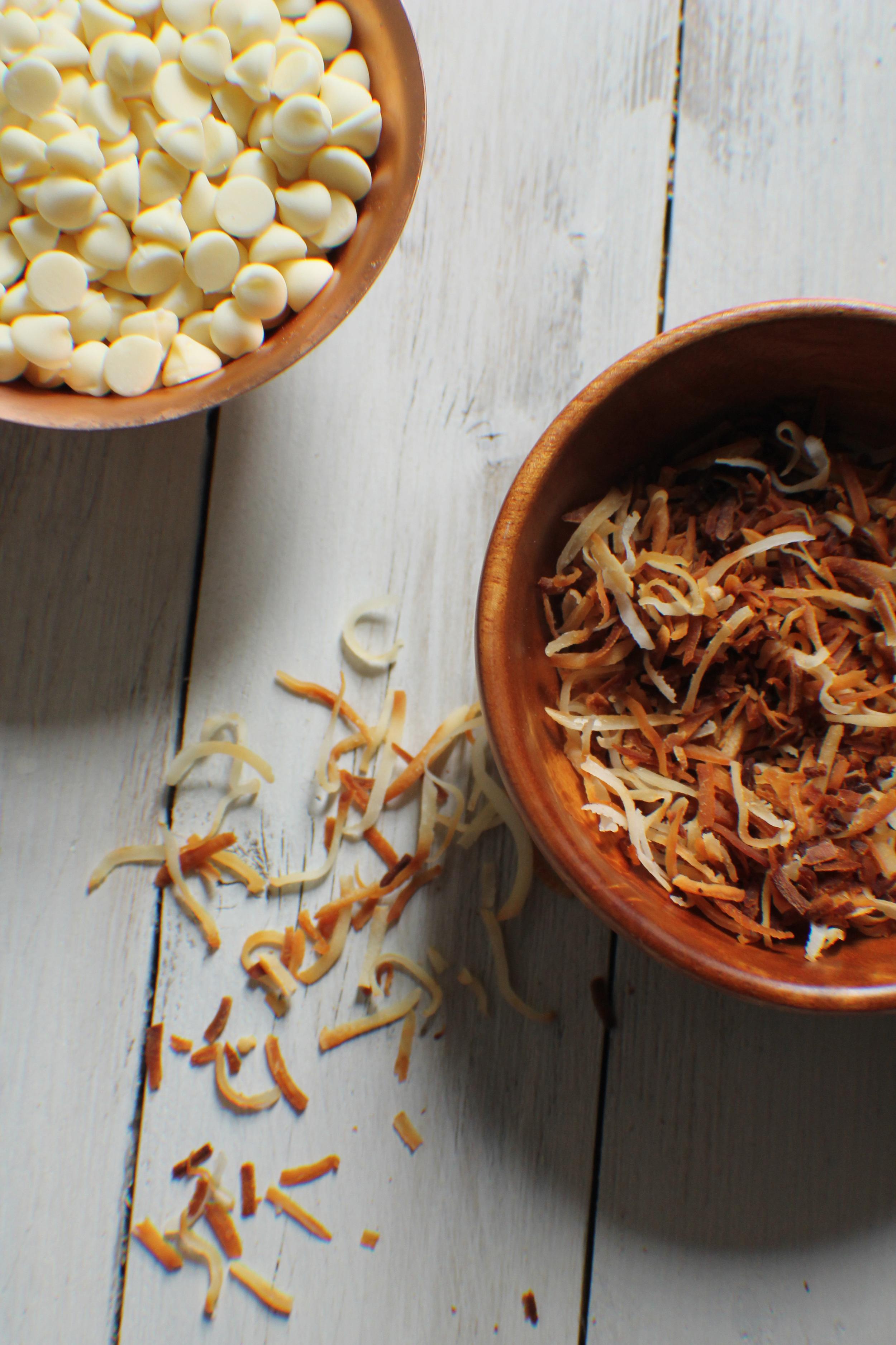 Toasted Coconut & Macadamia Nut Brittle {Pedantic Foodie}