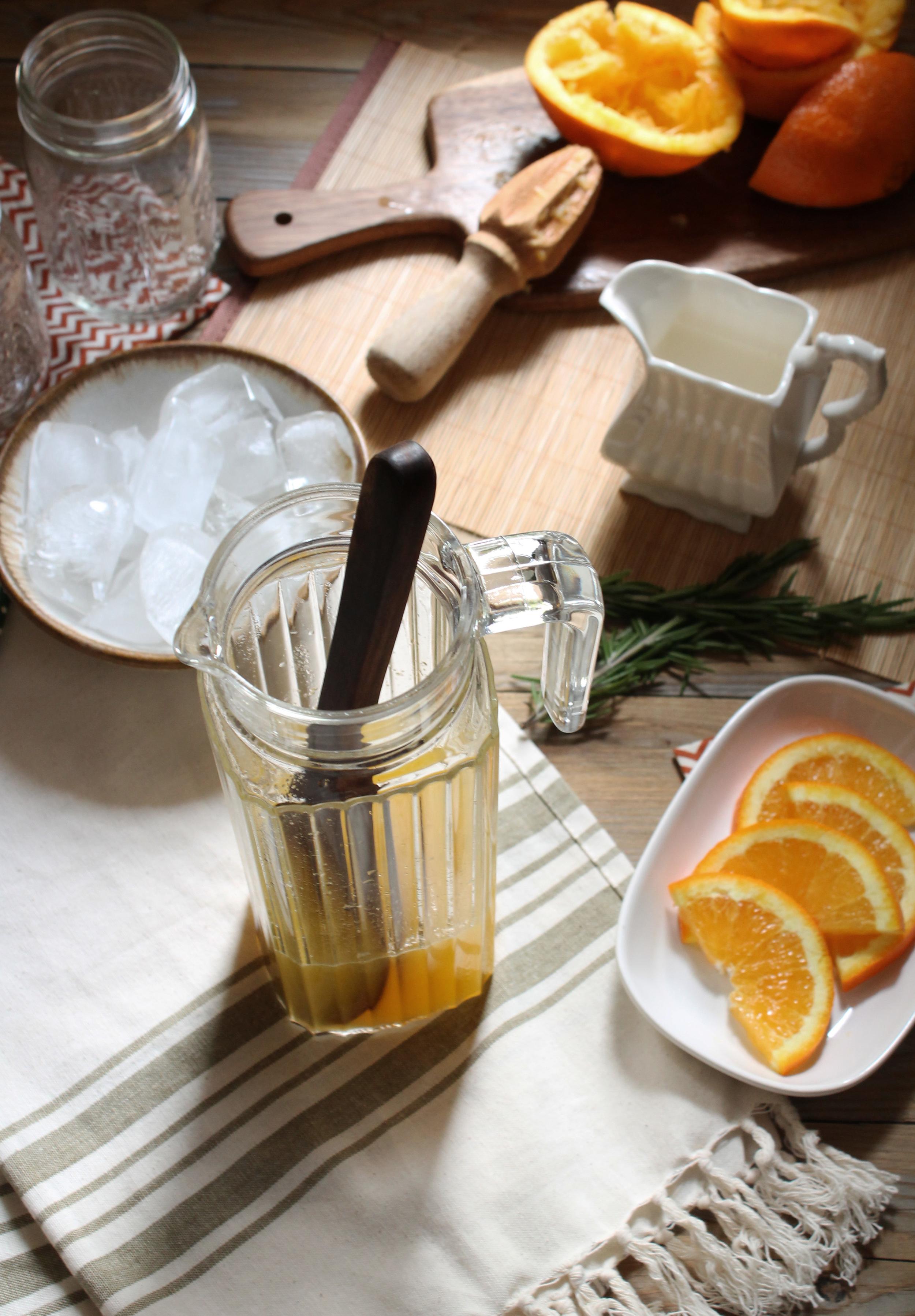 Orange & Rosemary Italian Cream Soda {Pedantic Foodie}